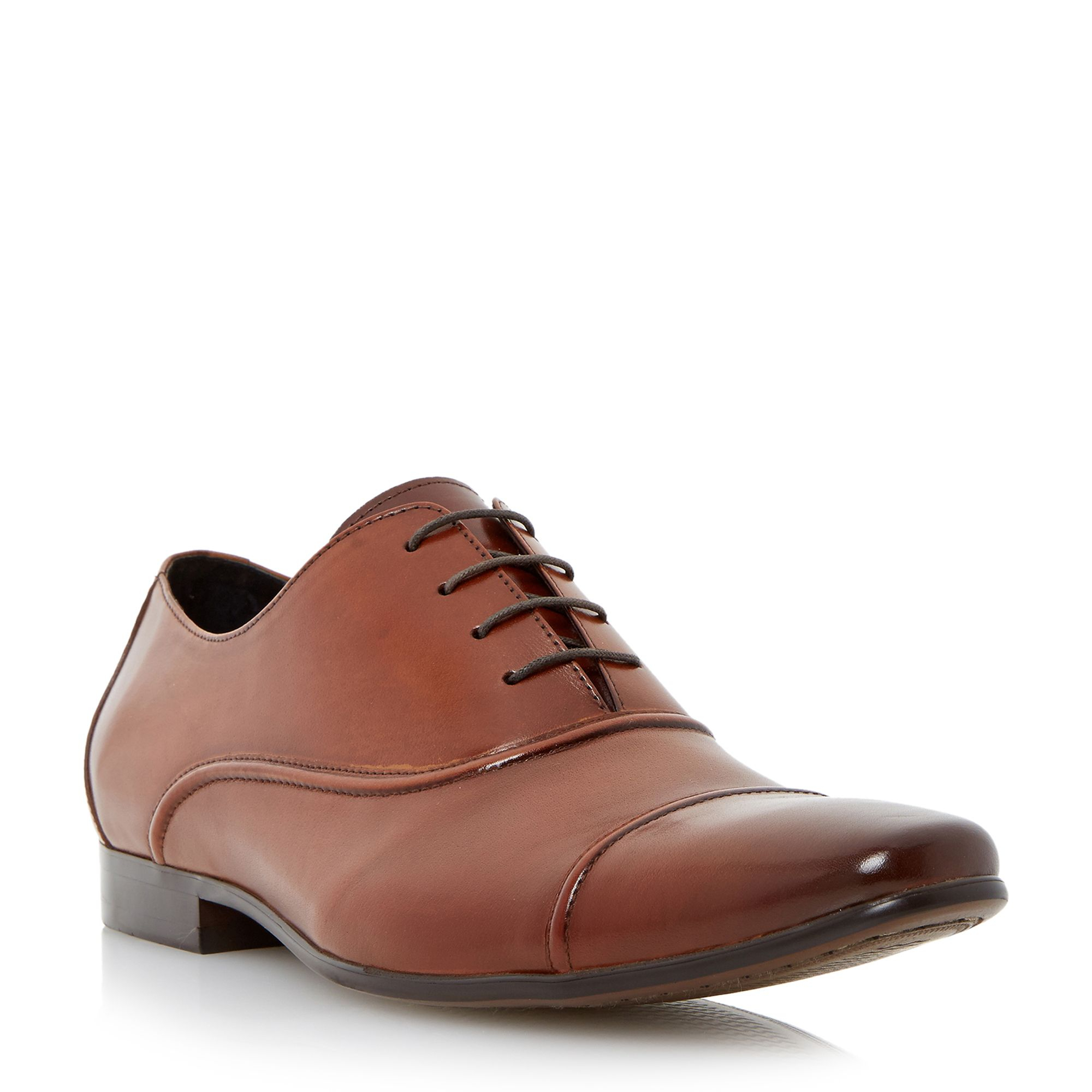 dune academy formal oxford shoes in brown for lyst