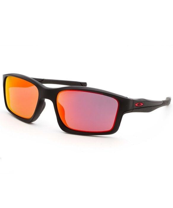 c1a1500545 Lyst - Oakley Men s Chainlink Rectangle Black Sunglasses in Black ...