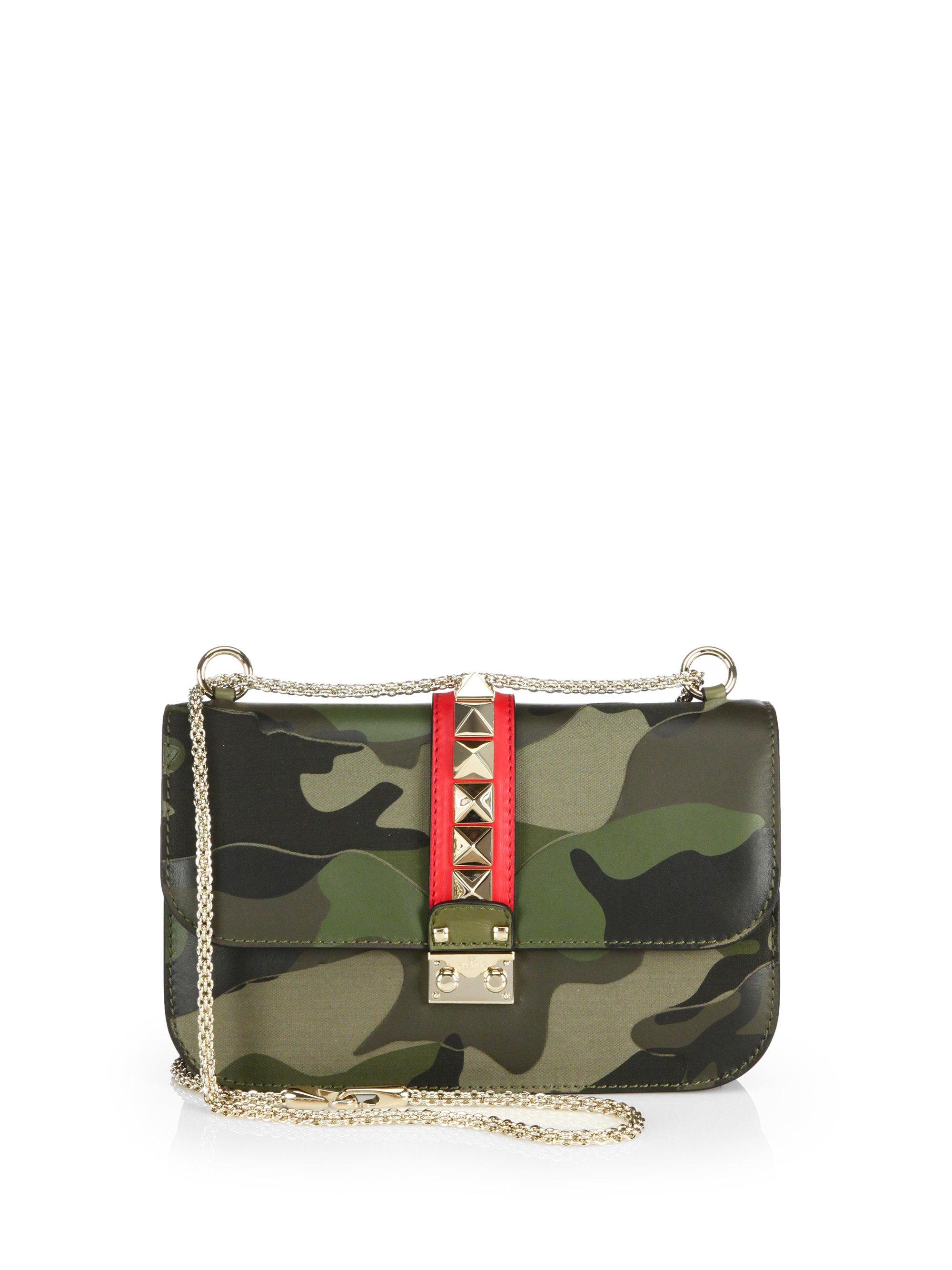 Camouflage Rocklock Shoulder Bag