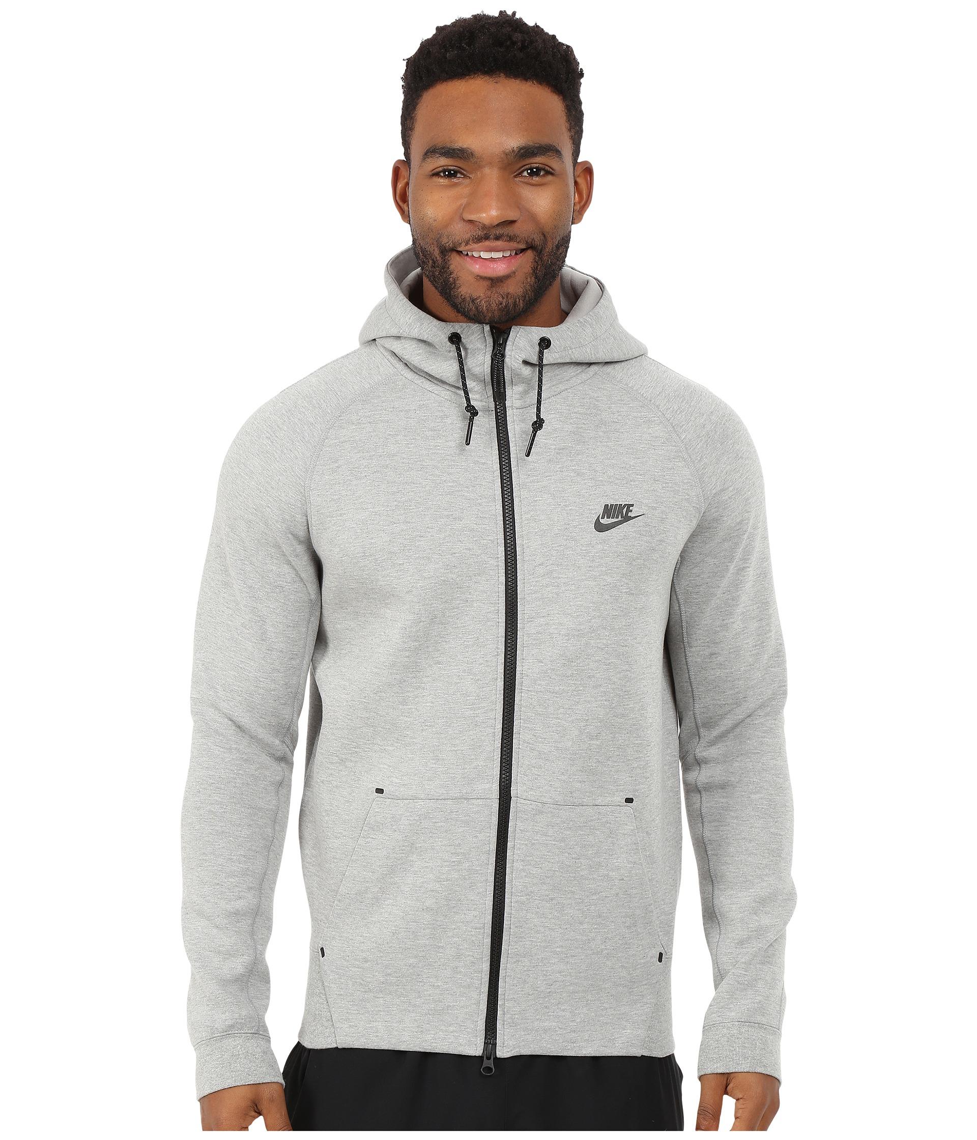 nike fleece zipper hoodie