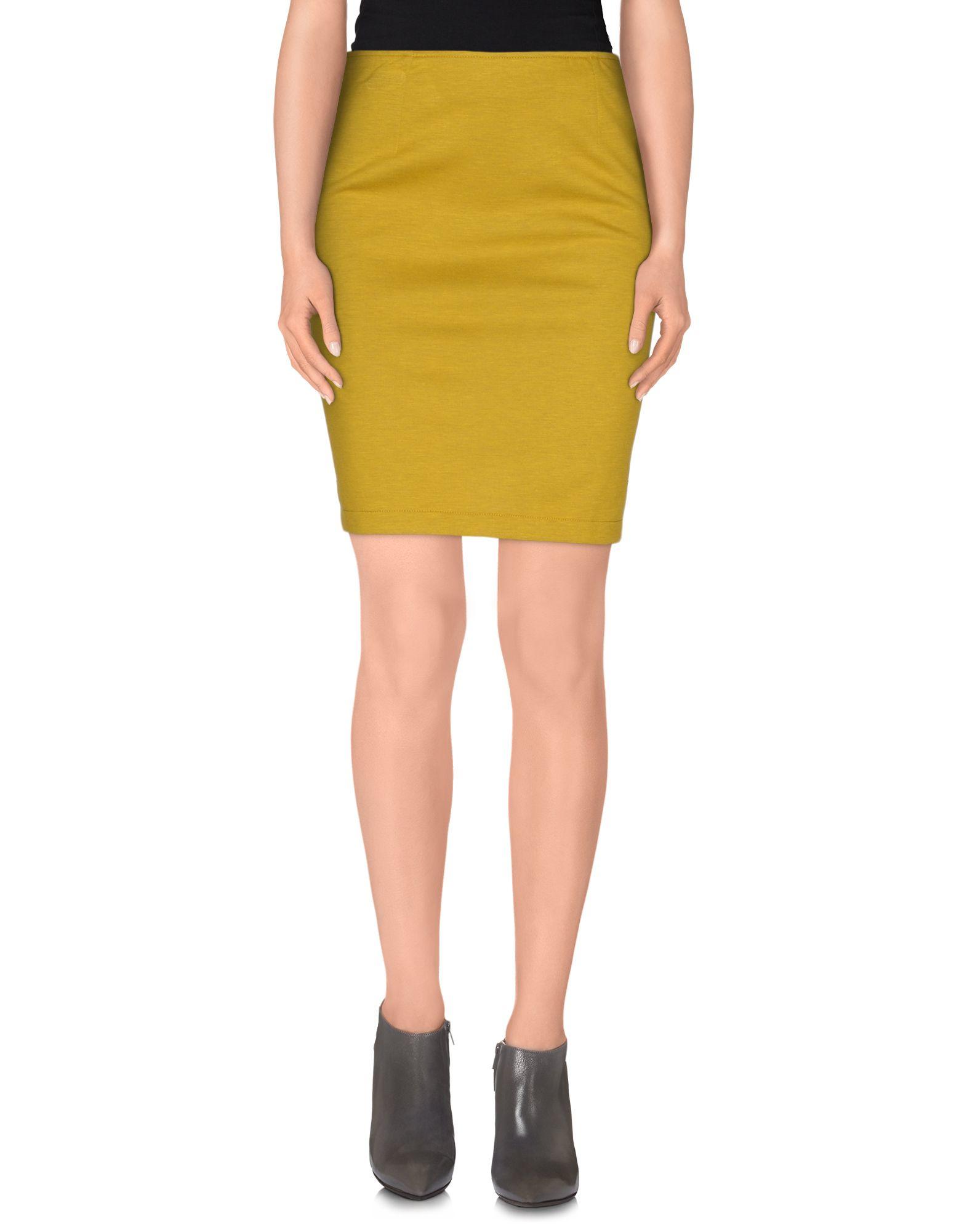 sessun knee length skirt in green lyst