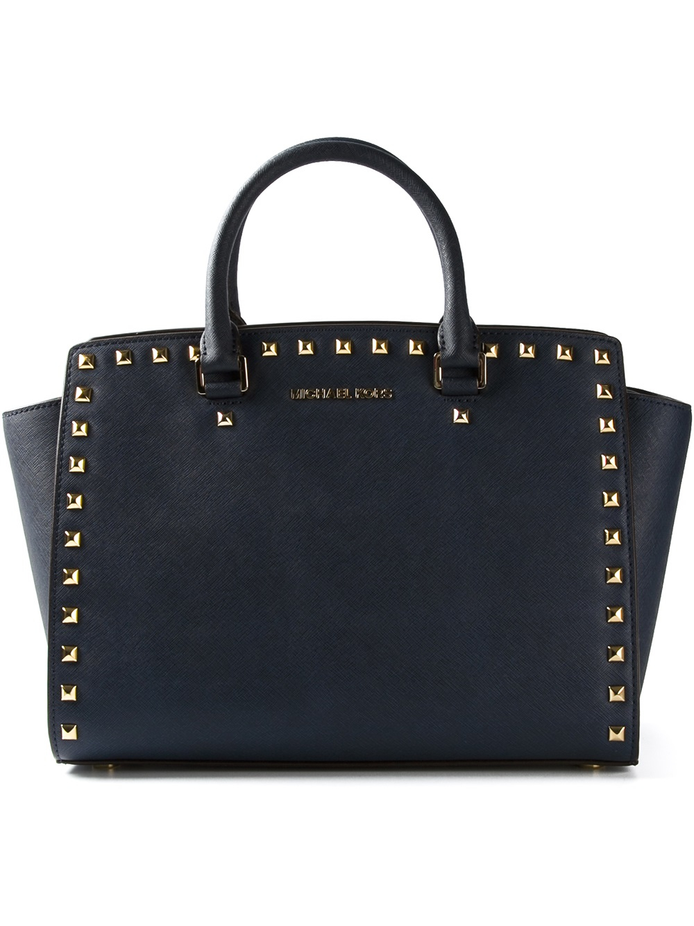 michael michael kors selma tote in blue lyst. Black Bedroom Furniture Sets. Home Design Ideas