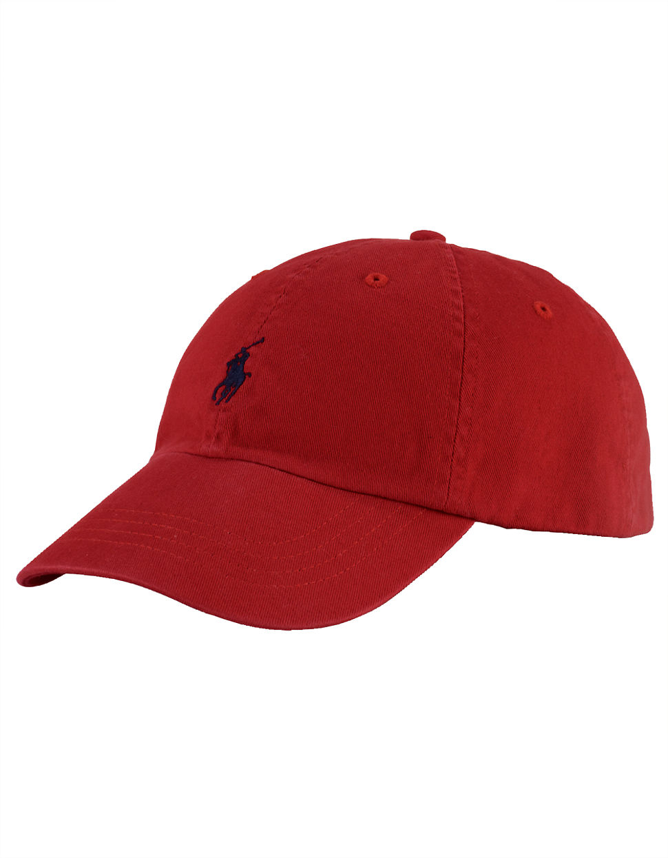 polo ralph lauren polo player hat in red rl red lyst. Black Bedroom Furniture Sets. Home Design Ideas