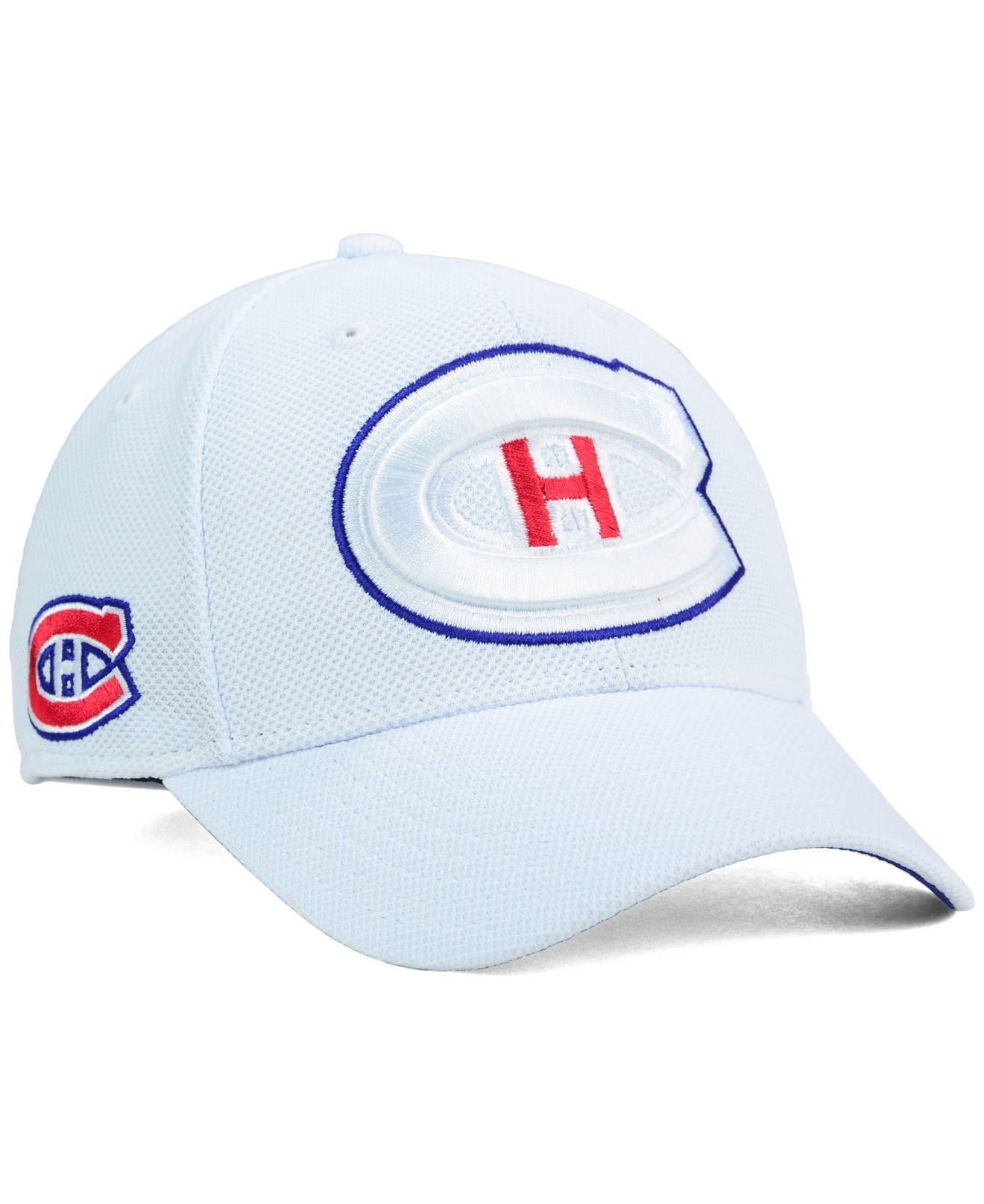 new concept 4a862 fceb6 Reebok White Montreal Canadiens 2nd Season Flex Cap for men