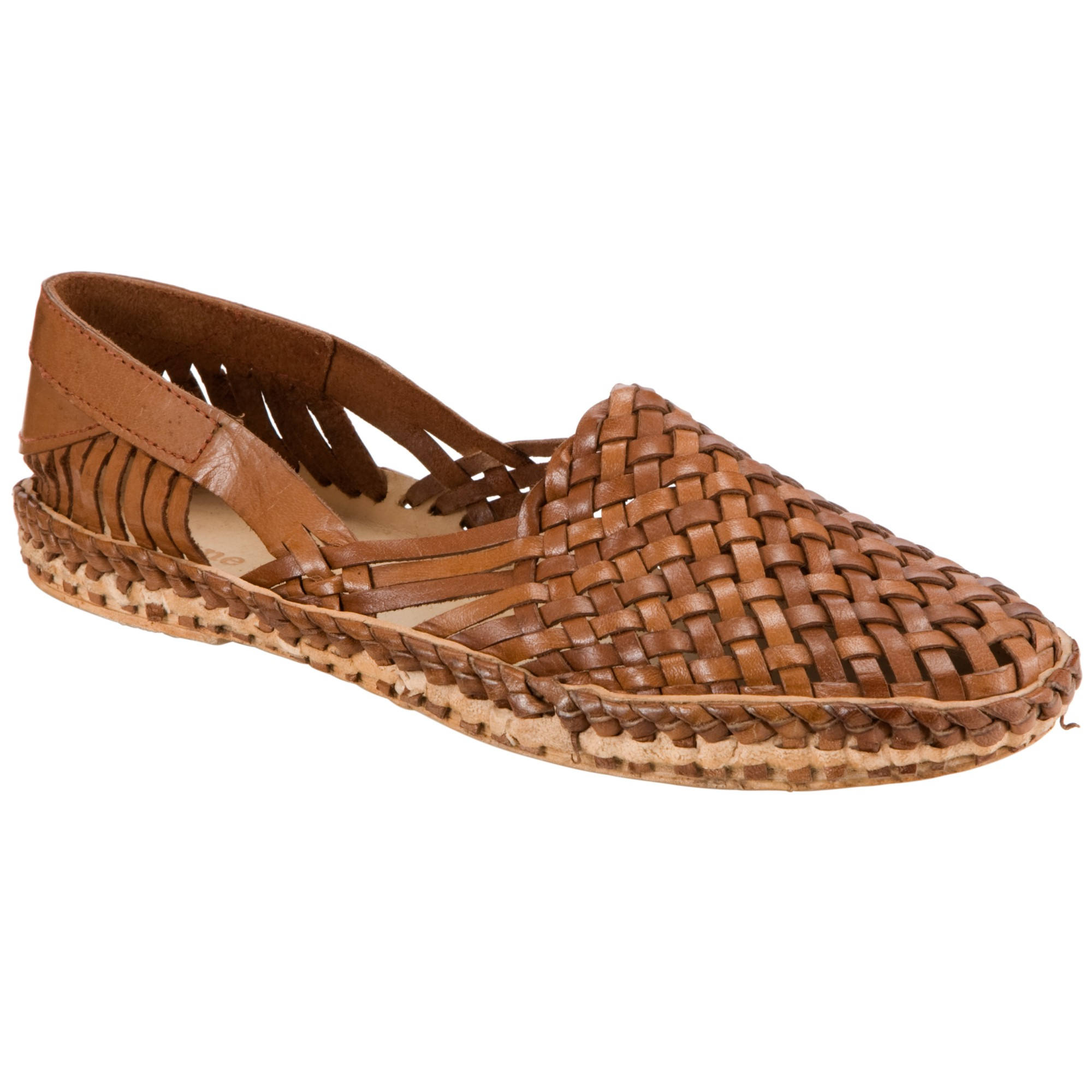 Dune Greece Leather Closed Toe Sandals In Brown For Men