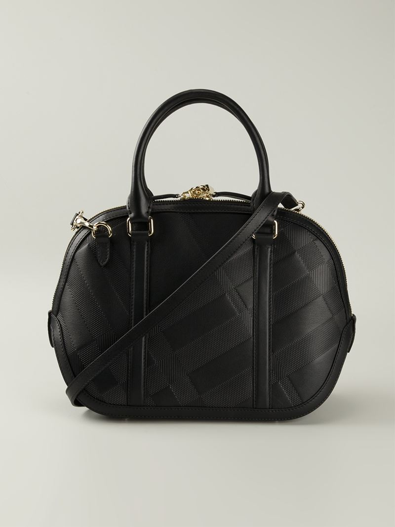 Burberry 'the Small Orchard' Tote in Black