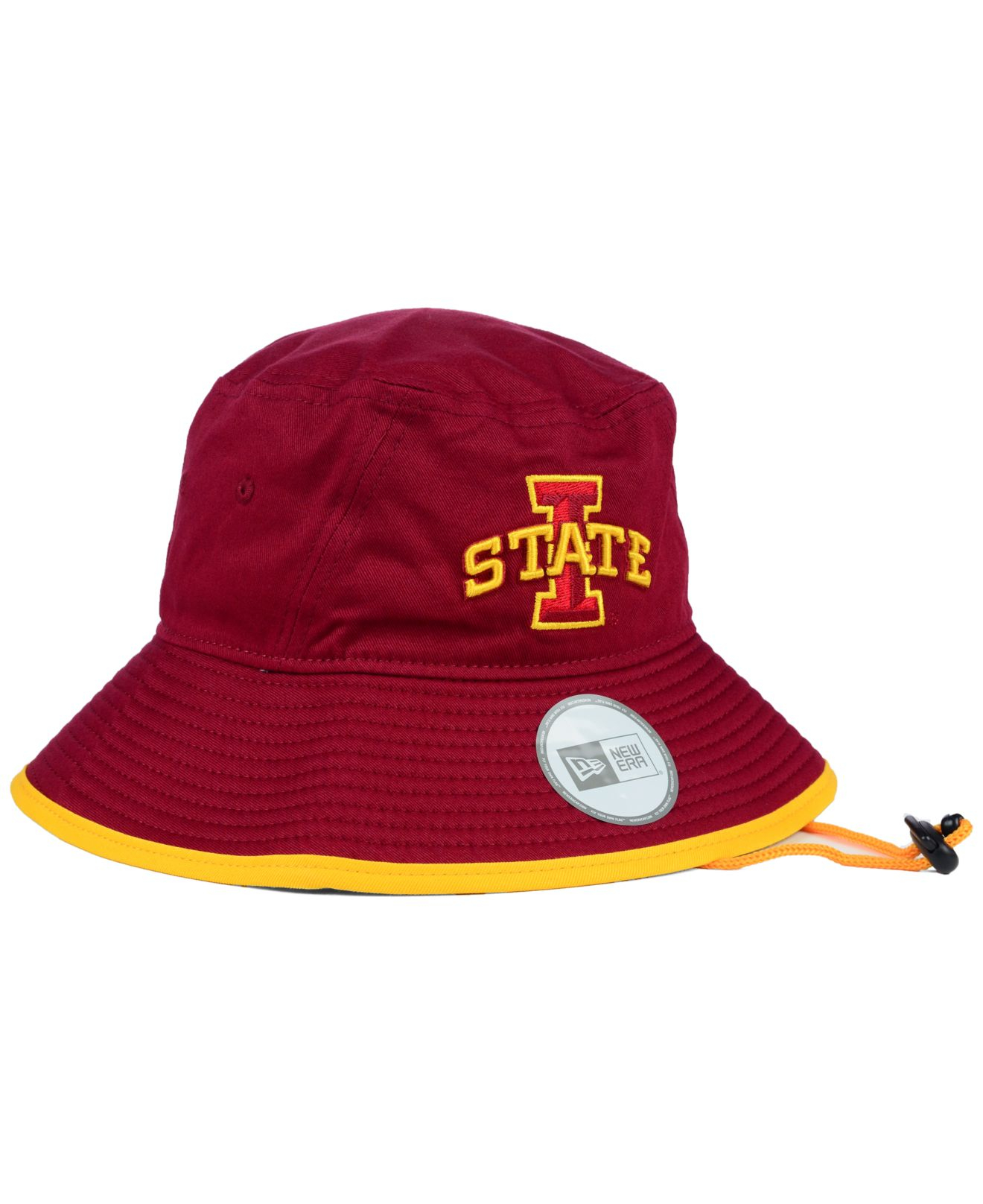 20a28c1a7eb2c ... cheap lyst ktz iowa state cyclones tip bucket hat in red for men 0cb7f  fb38e