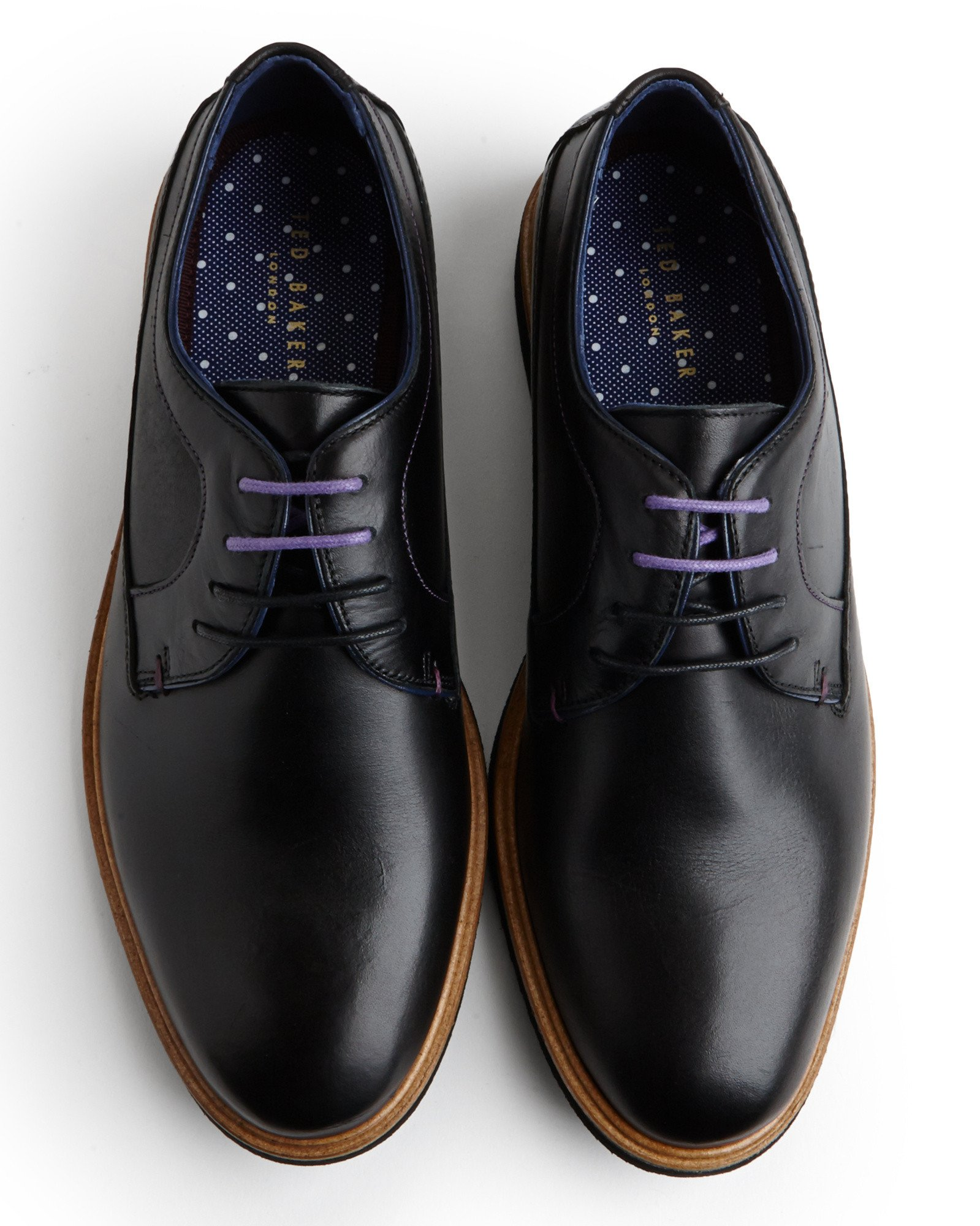 Ted Baker Classic Leather Derby Shoe in