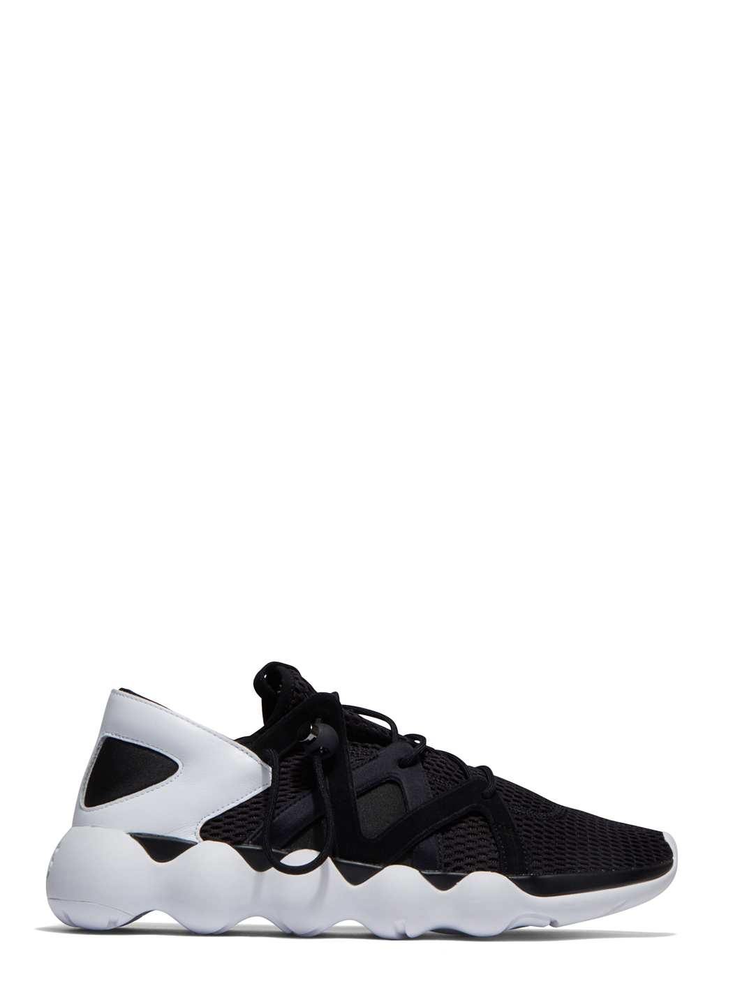 623230079dc4c Y-3 Men s Kyujo Low Sneakers In Black in Black for Men - Lyst