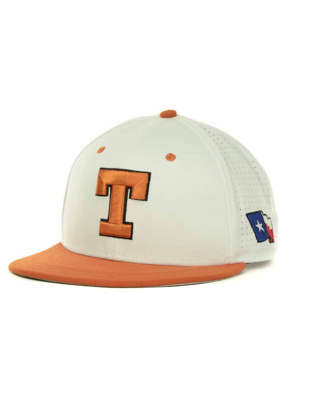 9bbe9675c0252 ... new arrivals lyst nike texas longhorns ncaa authentic vapor fitted cap  in white 5d644 72119