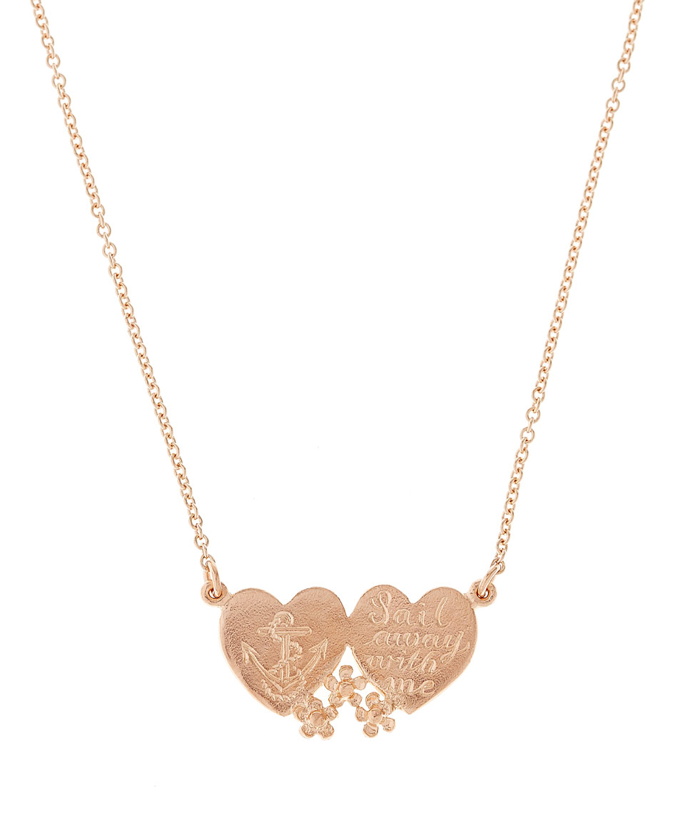 Alex monroe Rose Gold-plated Sail Away With Me Pendant ...