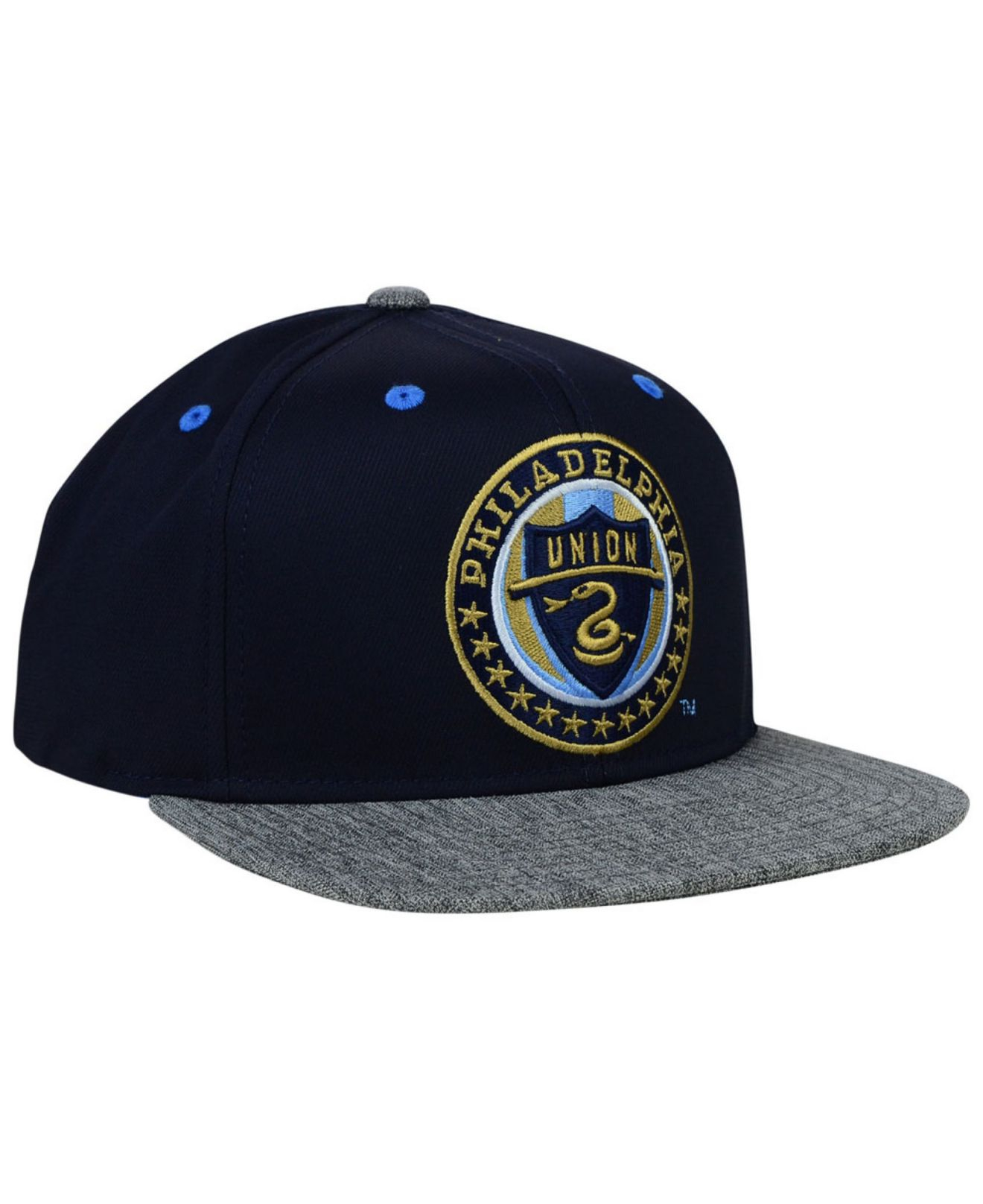 new concept 07522 88bd0 ... greece lyst adidas philadelphia union team snapback cap in blue for men  70836 a4e0c