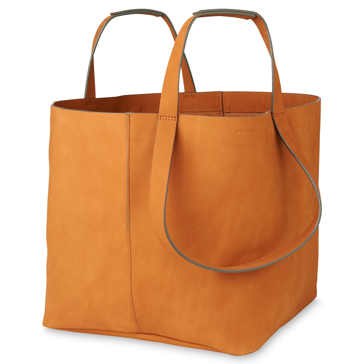 3d3ec59d5d Whistles Java Oversized Tote Bag in Brown - Lyst
