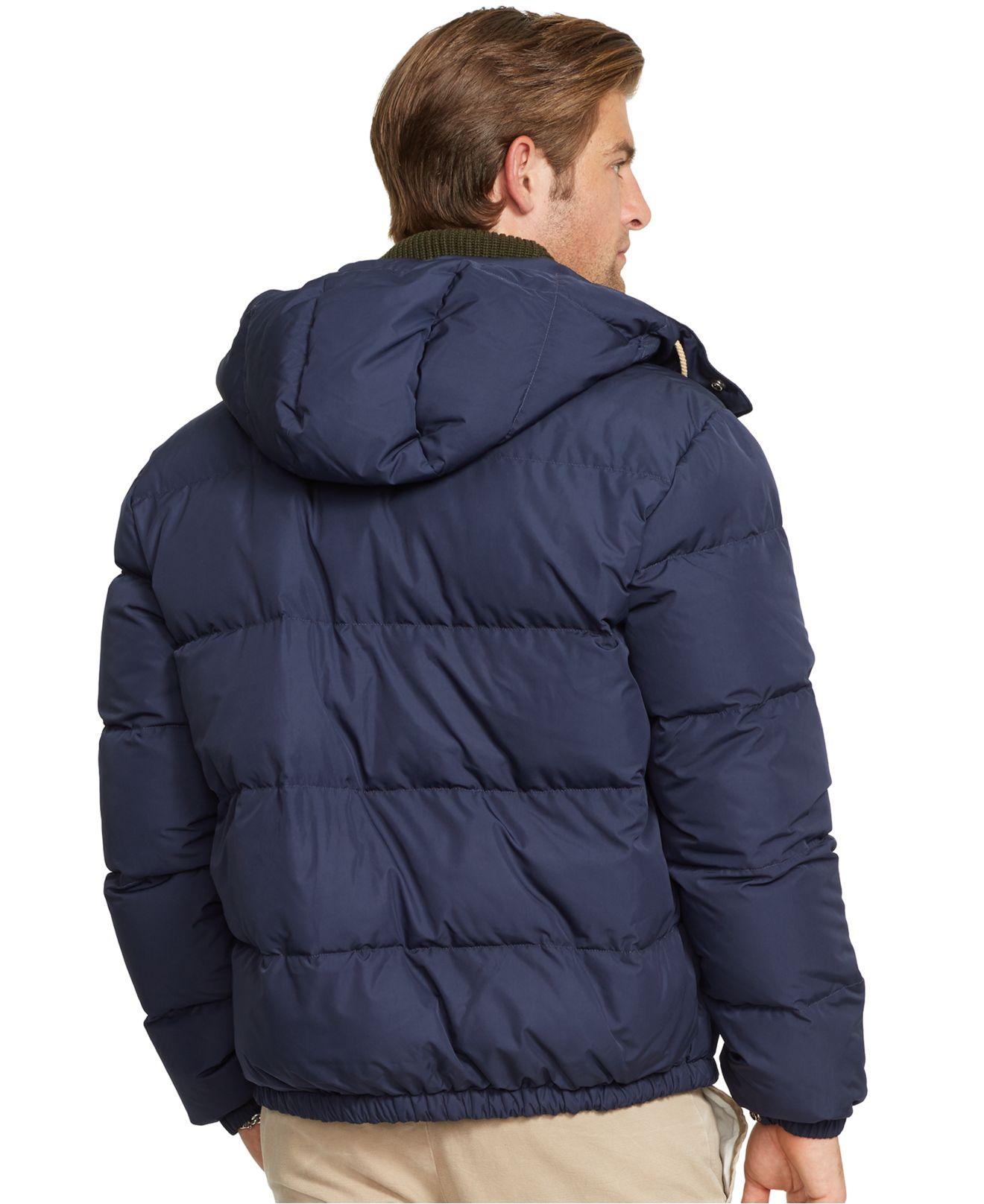 Elmwood Blue In For Men Jacket Polo Ralph Down Lyst Lauren EIDH9eY2W