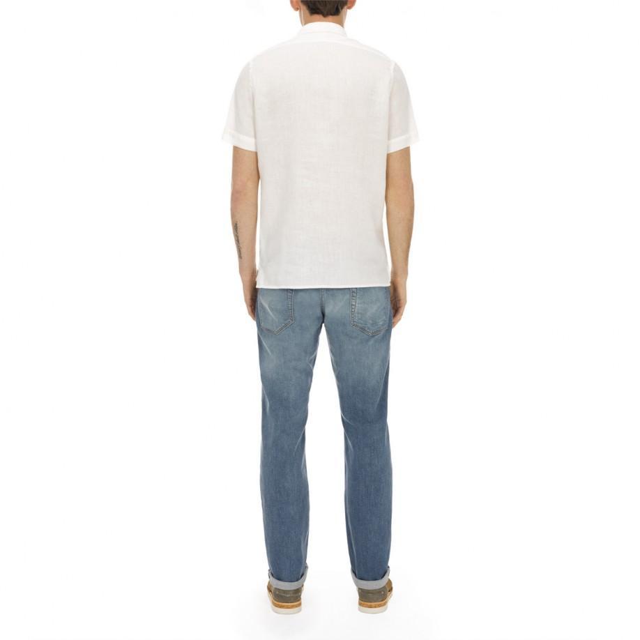 Paul Smith Standard-Fit Light-Wash Stretch-Denim Jeans in Blue for Men