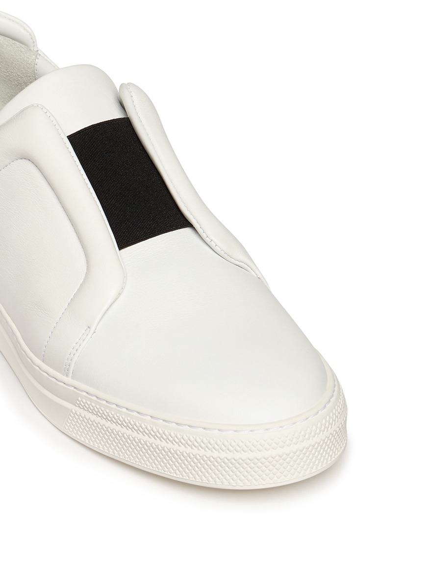 Slider leather sneakers Pierre Hardy dq9KTRD