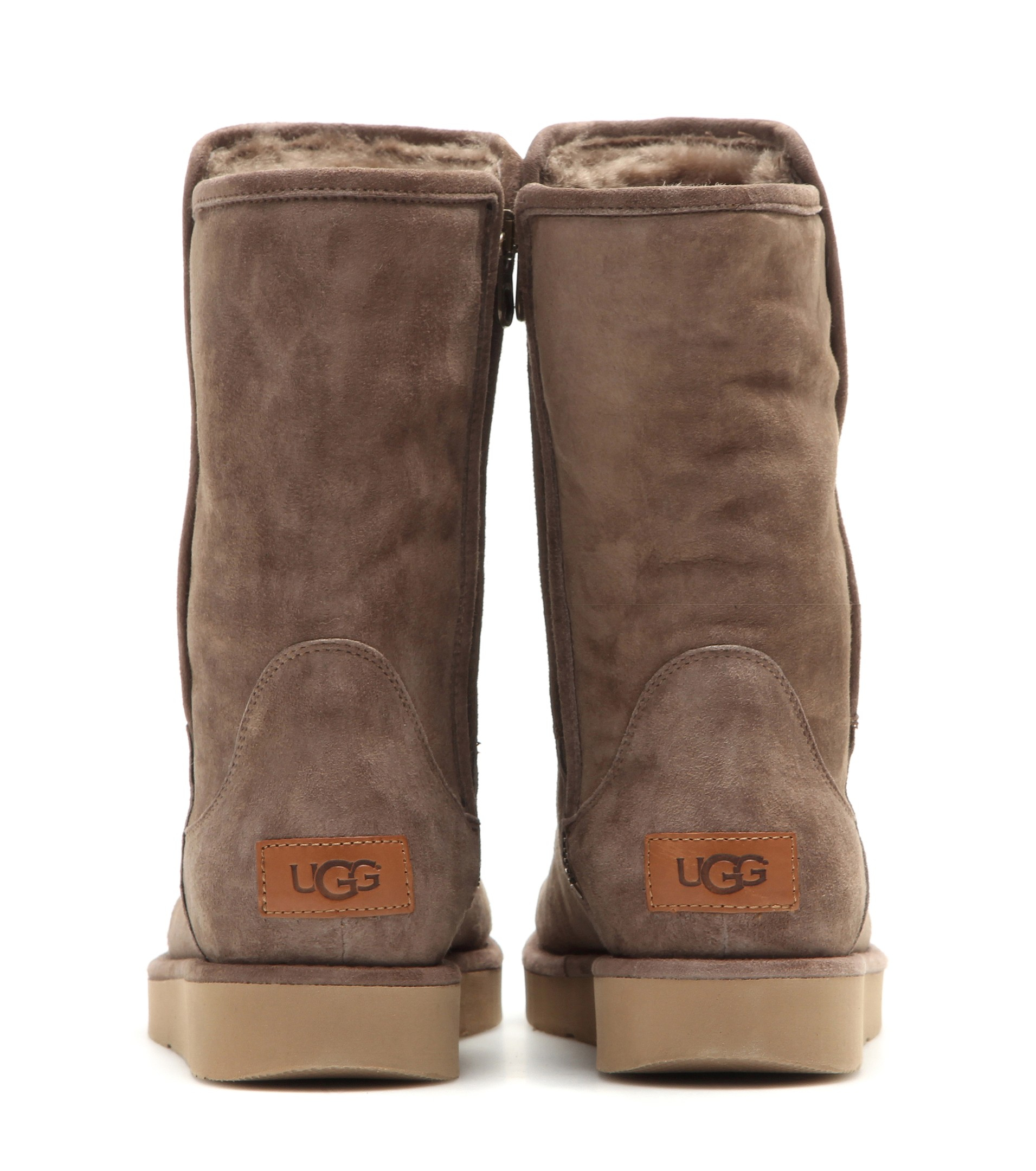 1a610fdf36e UGG Brown Abree Leather Ankle Boots