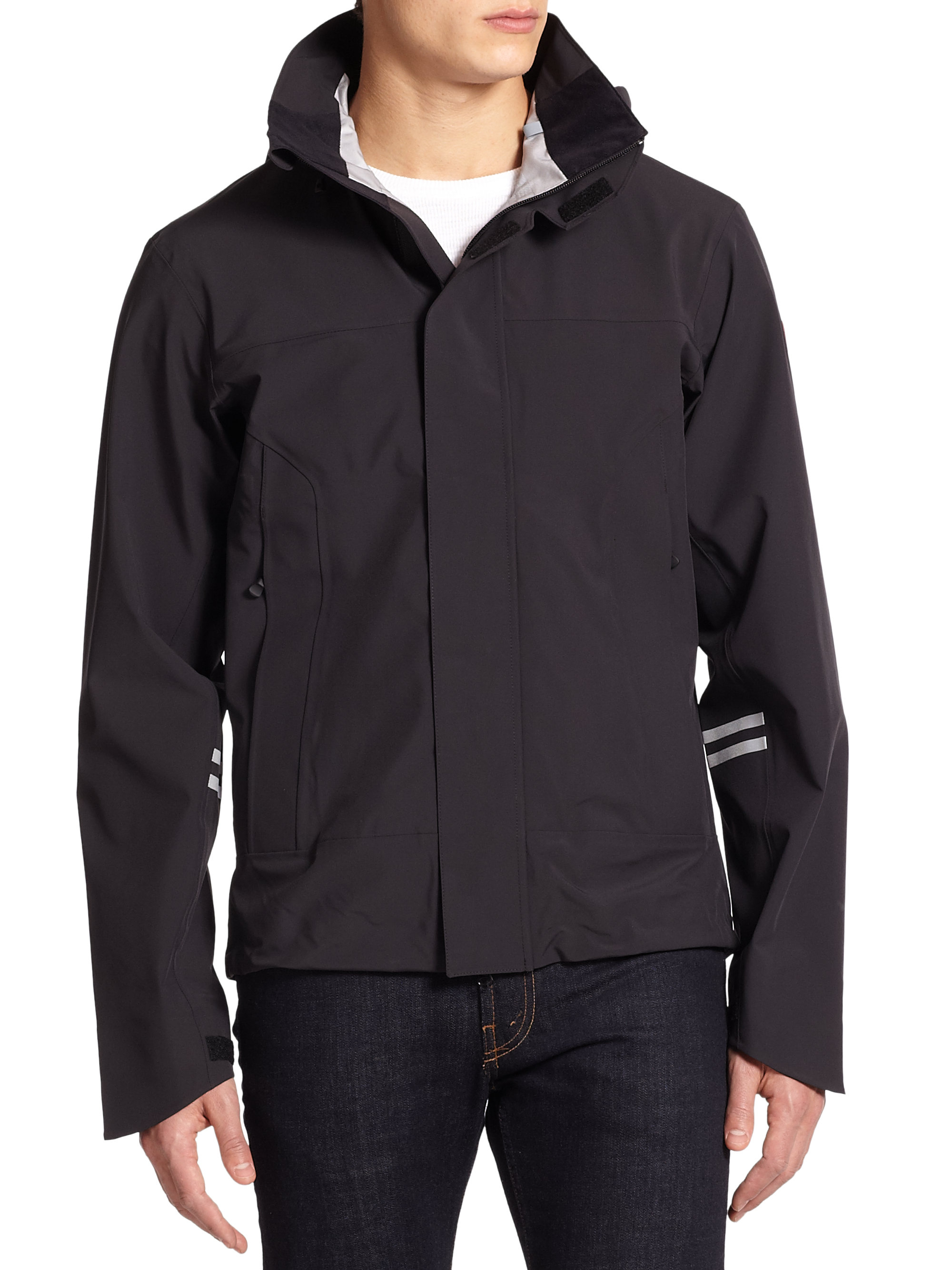 Canada Goose kids outlet shop - Canada goose Ridge Shell Jacket in Black for Men | Lyst