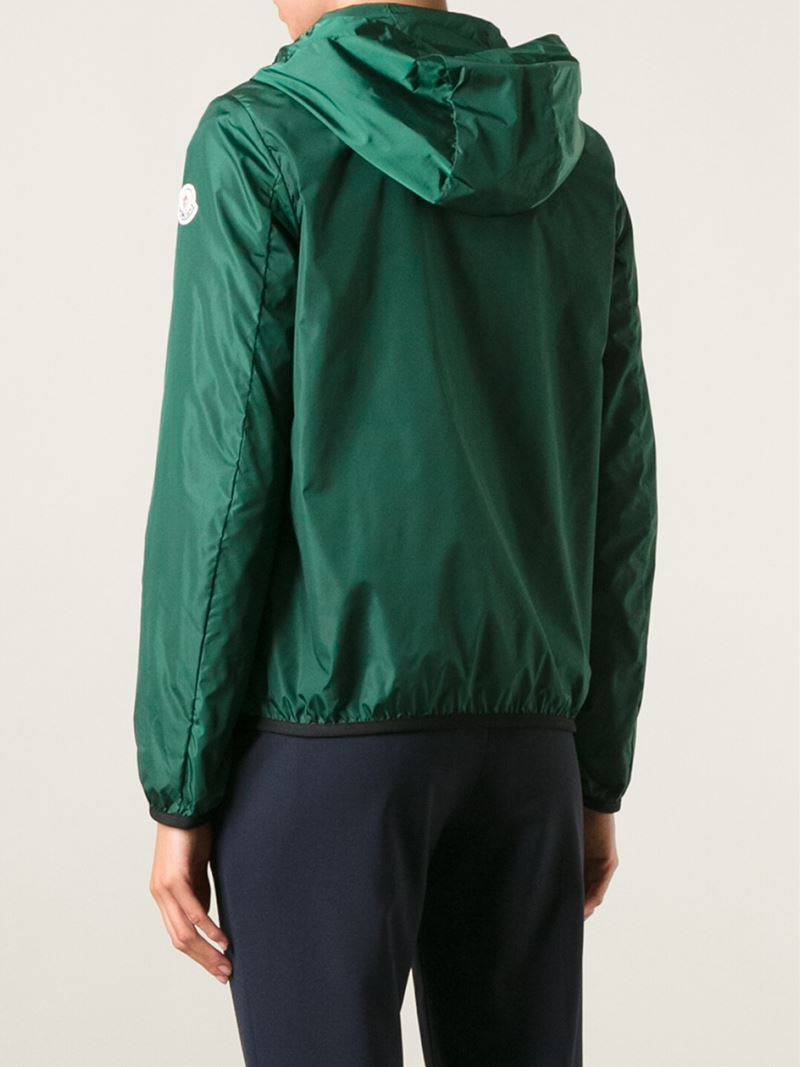 moncler green windbreaker