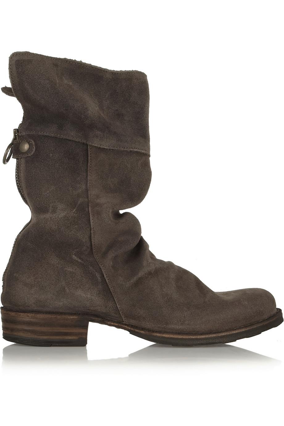 lyst fiorentini baker ella eternity nubuck boots in brown. Black Bedroom Furniture Sets. Home Design Ideas