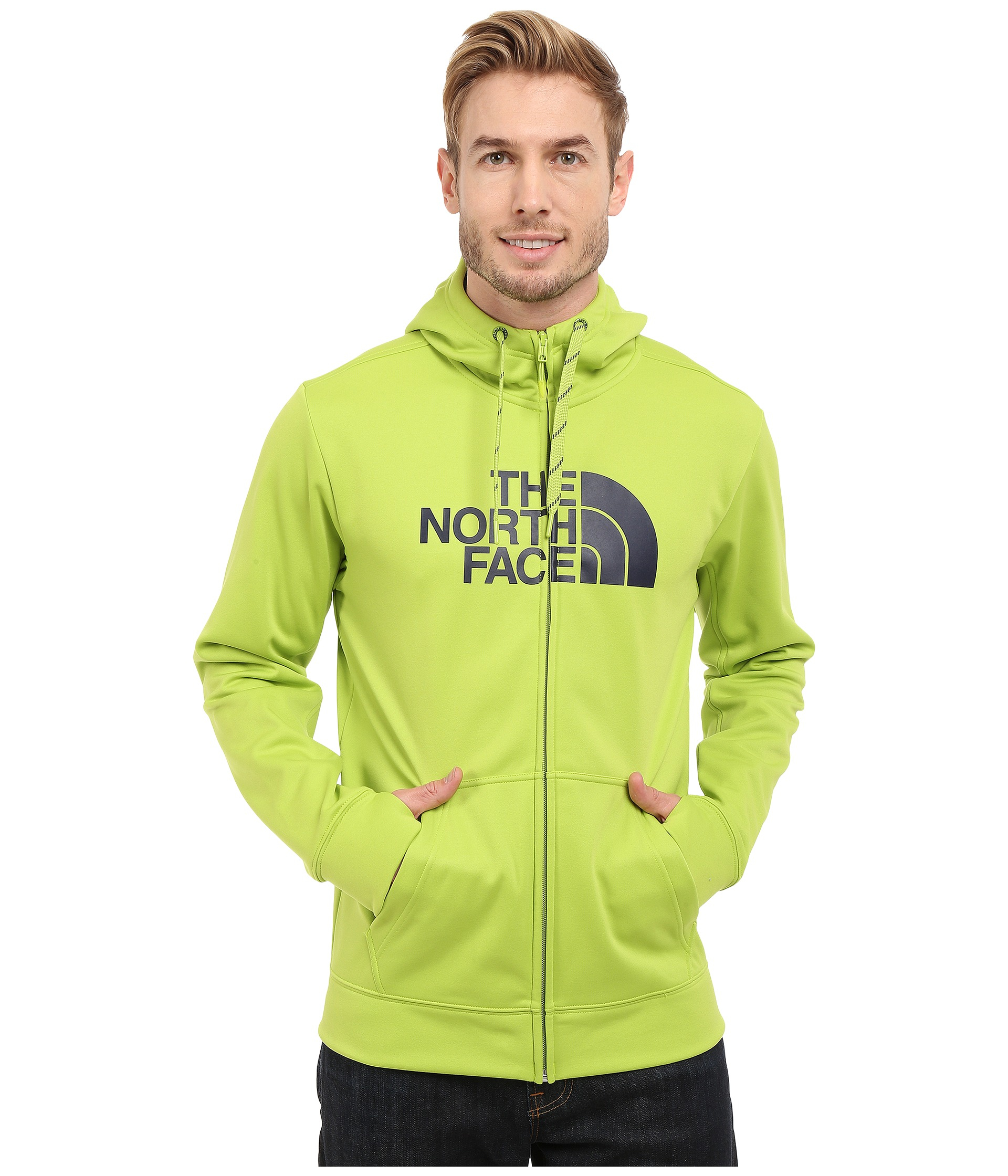 eebecbc17 The North Face Black Surgent Half Dome Full Zip Hoodie for men