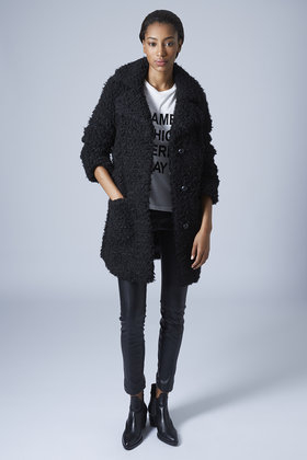 a few days away where to buy order Faux Fur Teddy Coat