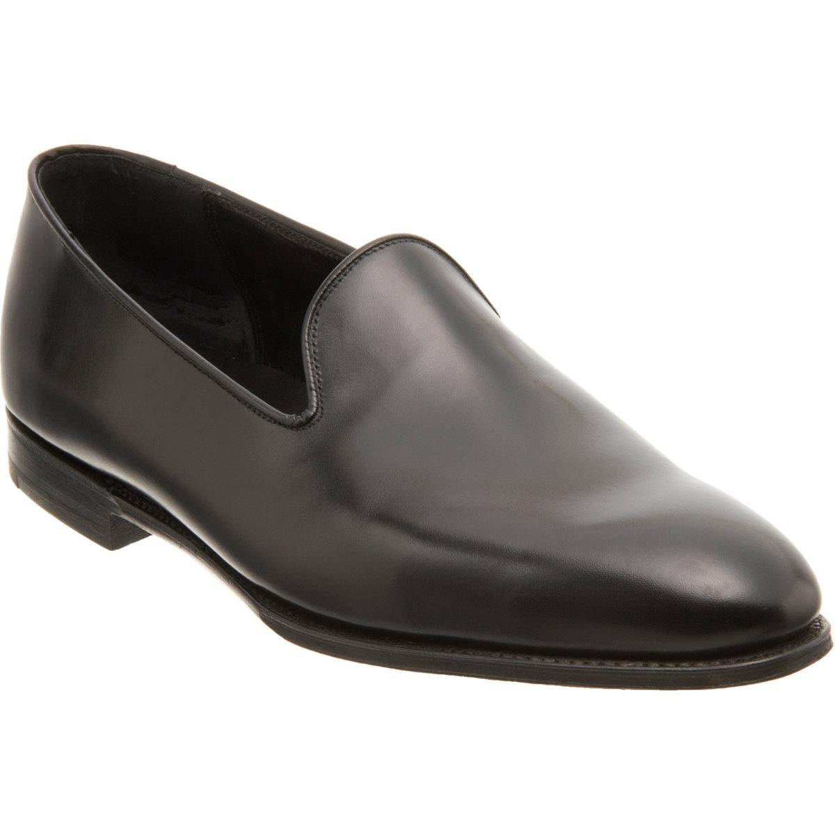 Crockett and jones Plain-toe Loafers in Black for Men
