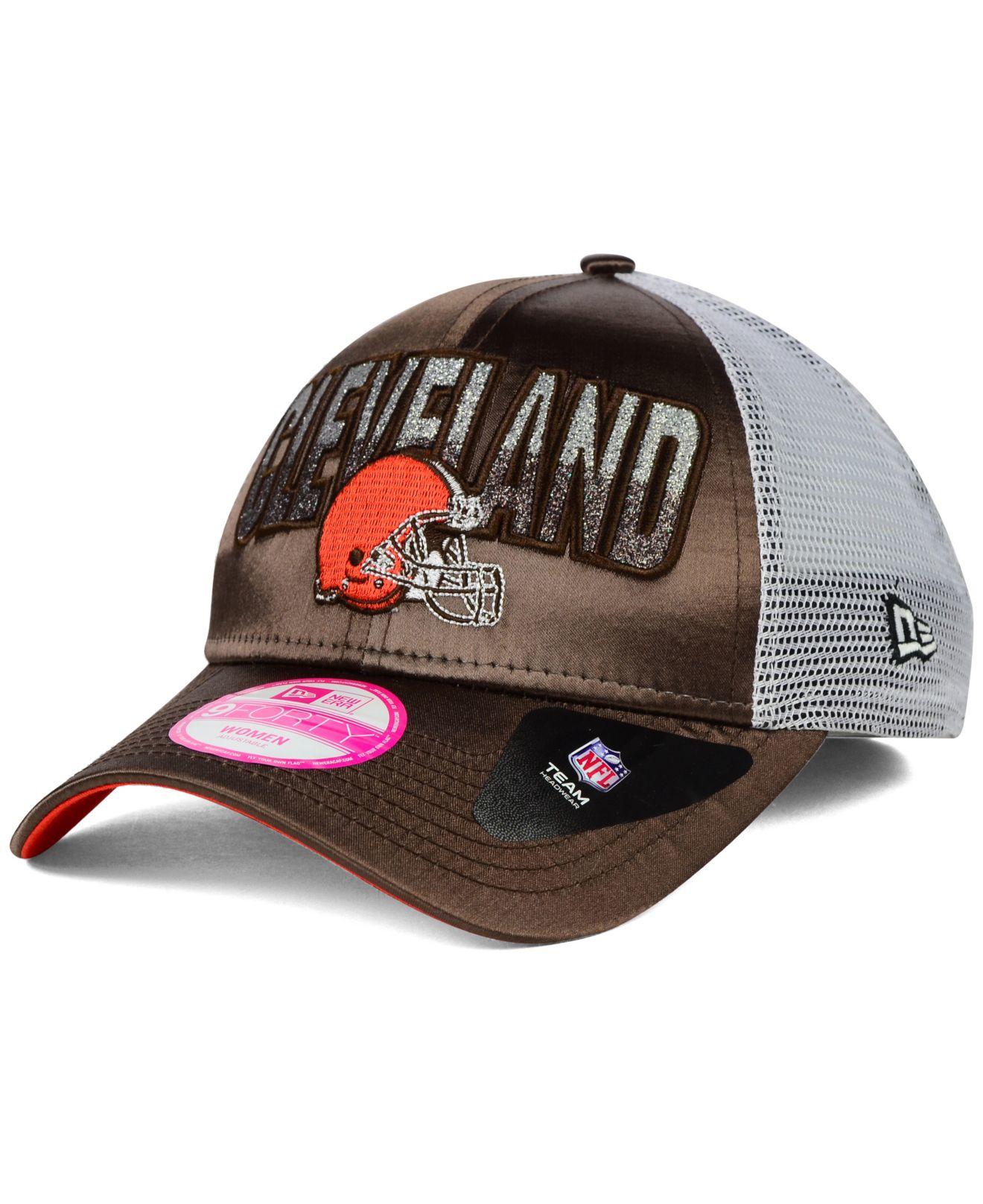 New Era Cincinnati Bengals Women's Black Truck Shine 9FORTY Adjustable Hat