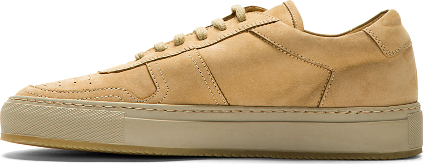 Common Projects Bball Low Tan Suede 43