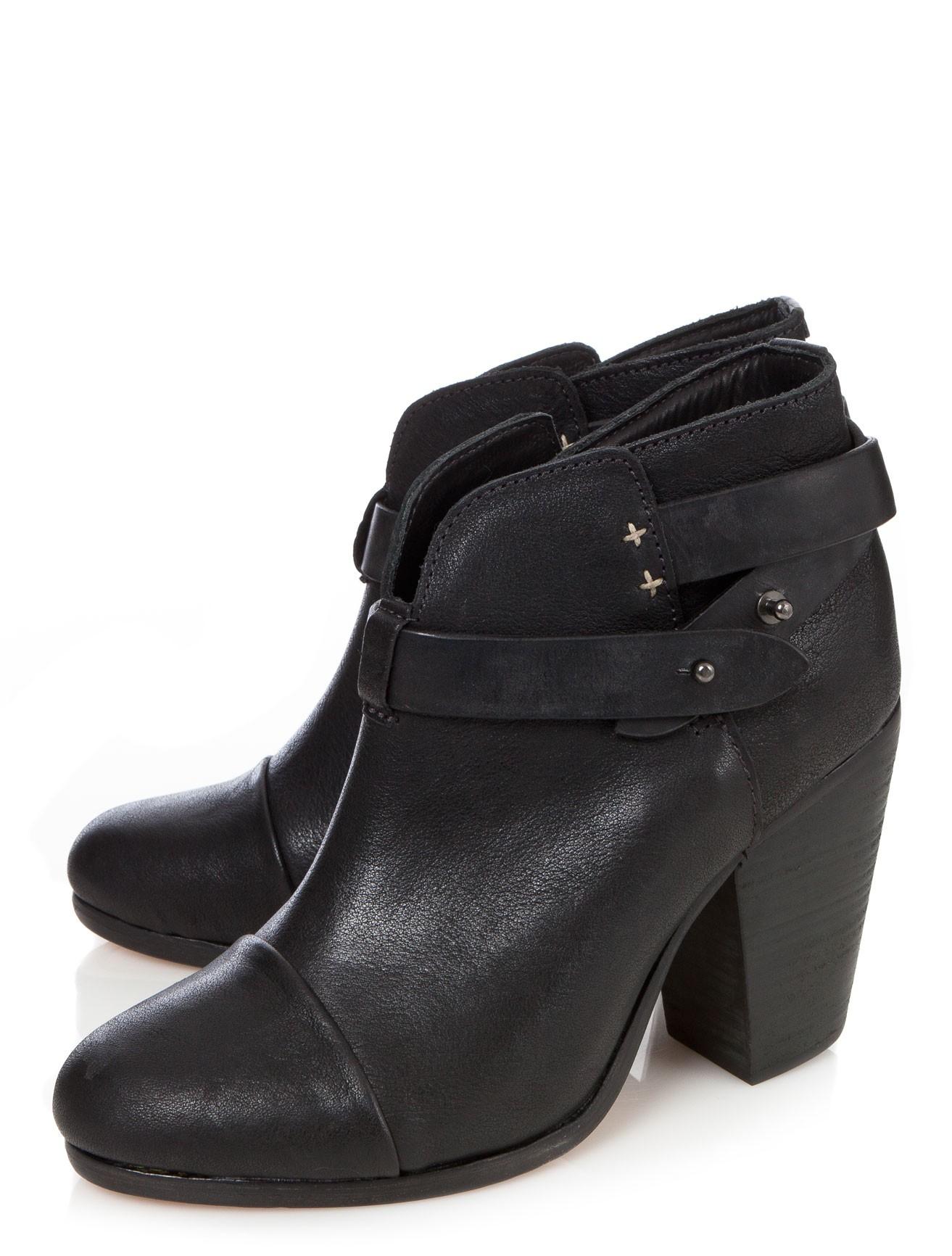 rag bone harrow boots in black lyst