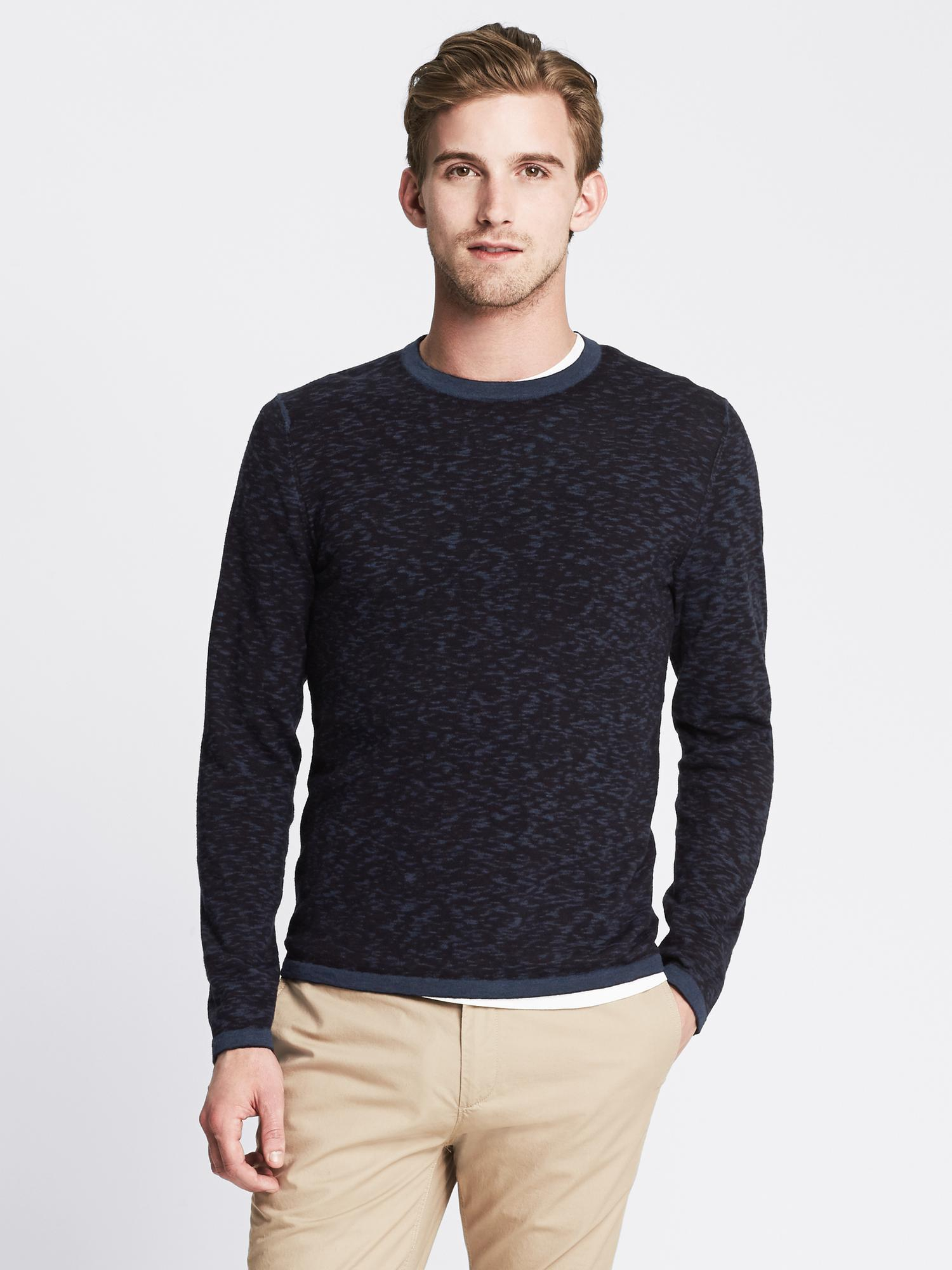 Fitted Crew-Neck T-Shirt | Banana Republic Canada