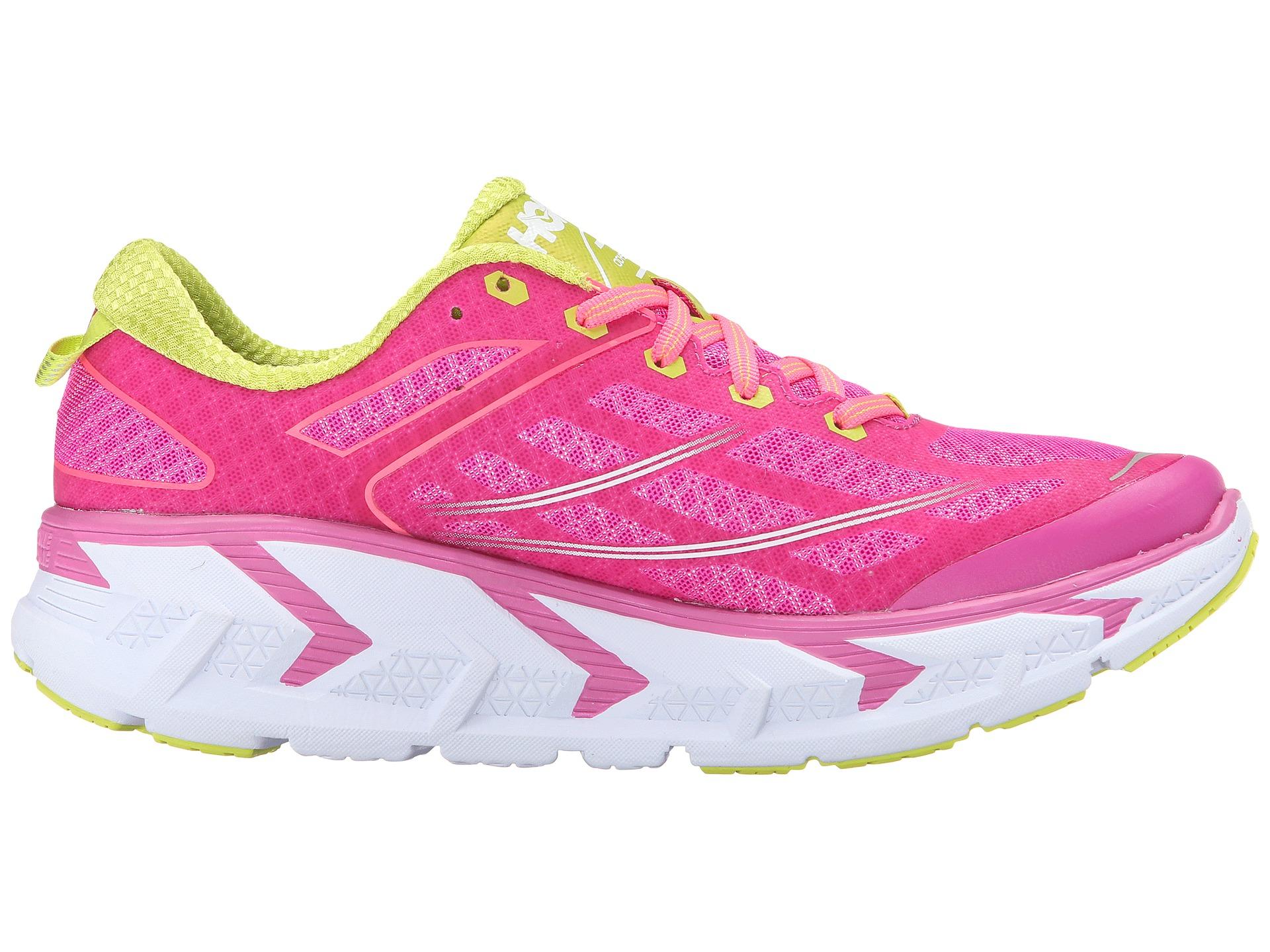 pink hoka shoes
