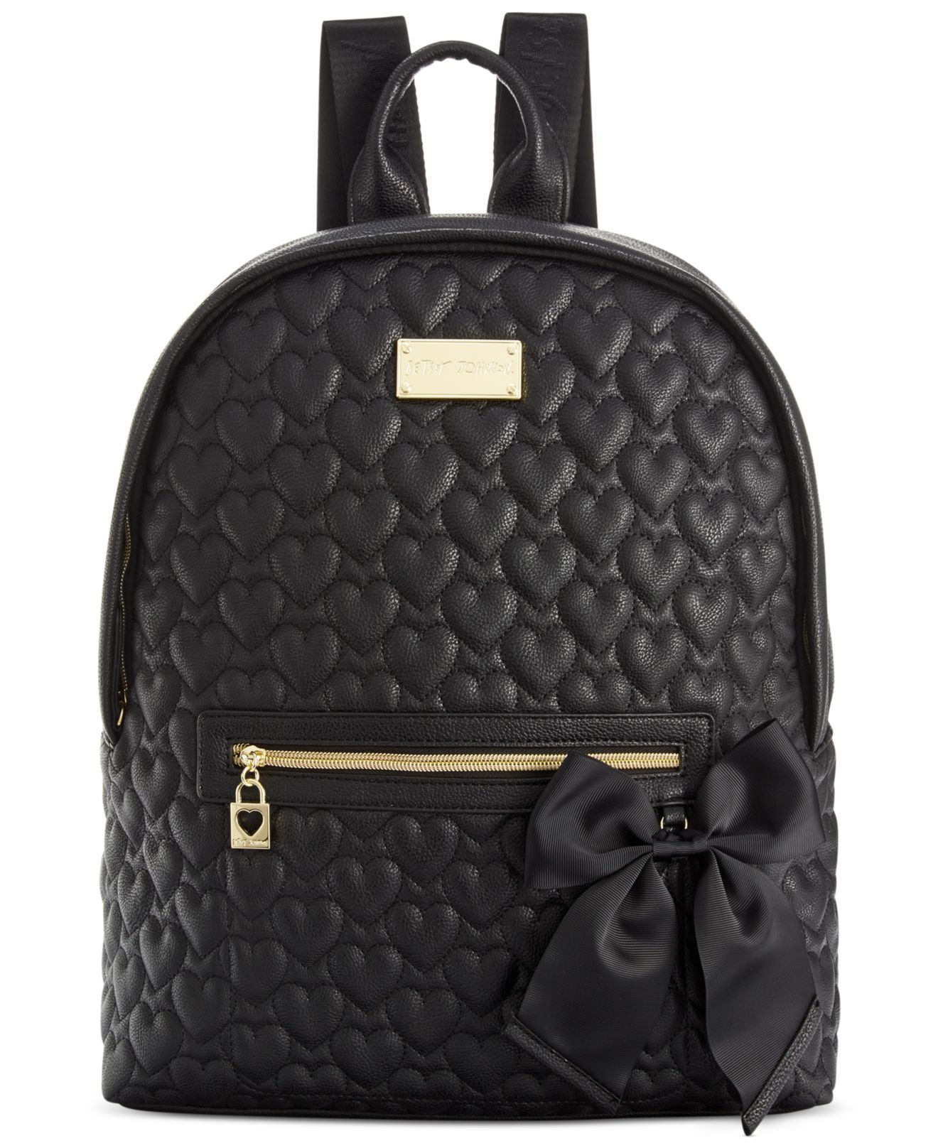 Lyst Betsey Johnson Macy S Exclusive Quilted Backpack In