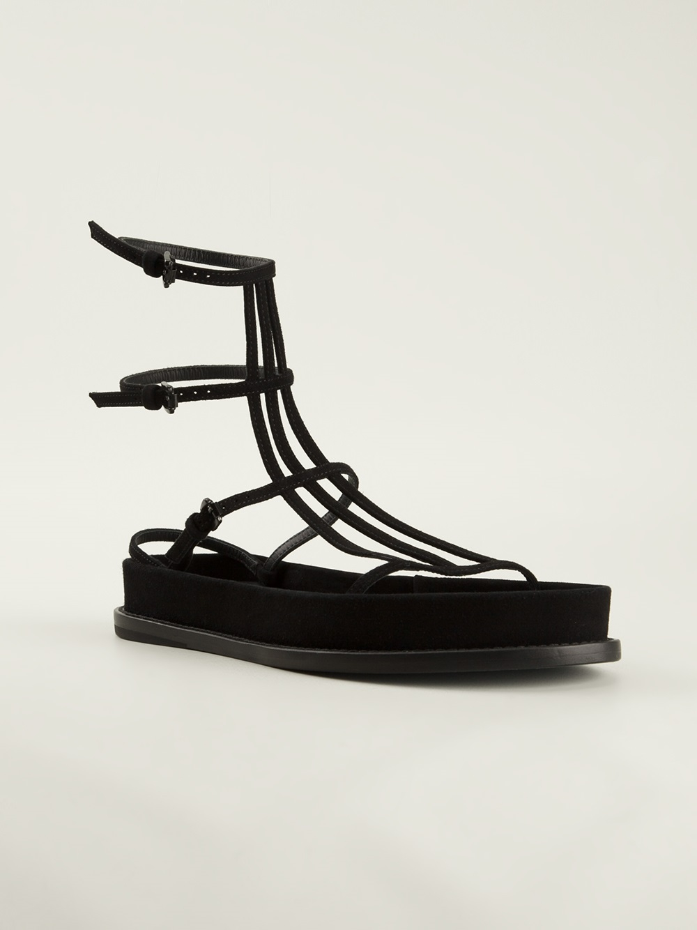 strappy sandals - Black Ann Demeulemeester