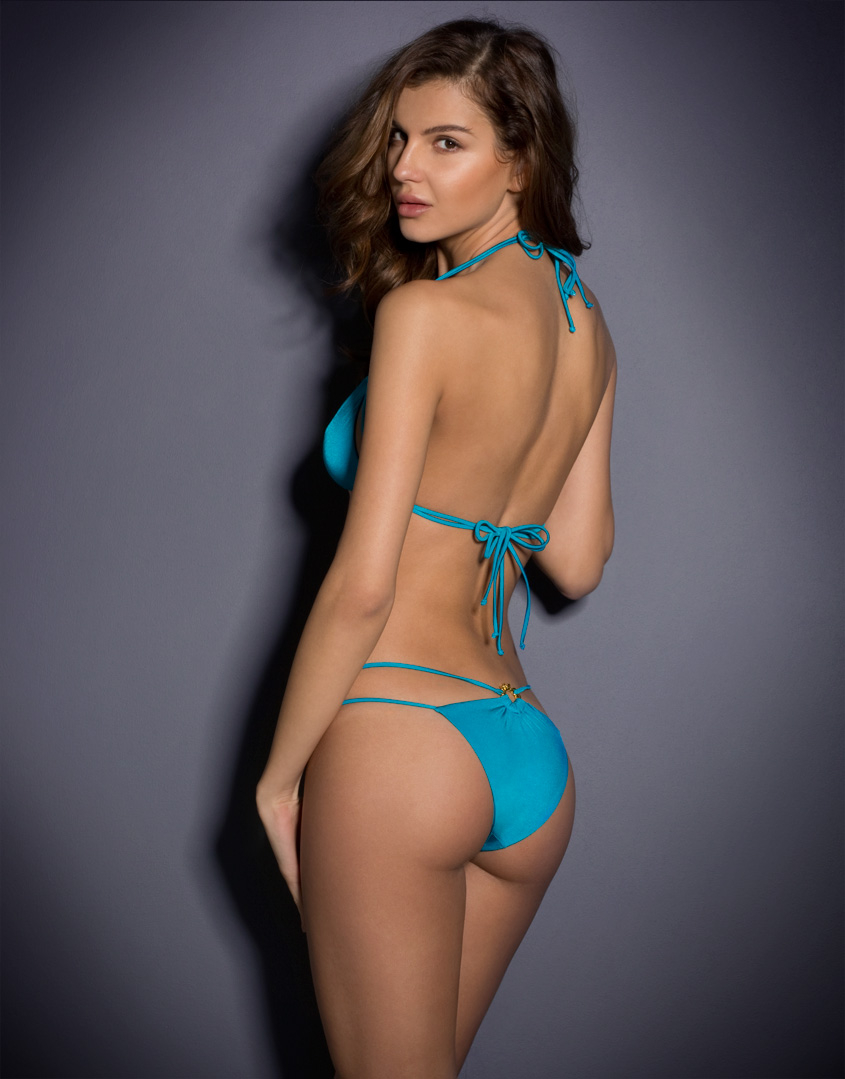 1700d2acb8 Agent Provocateur Cee-Cee Bikini Bra in Blue - Lyst