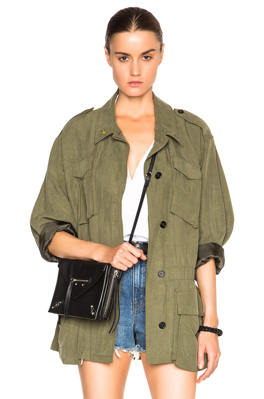 Smythe Army Jacket In Green Lyst