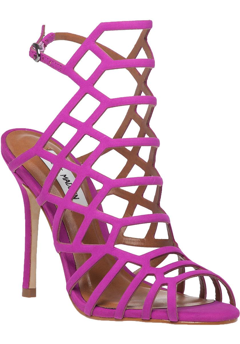 e73048c23ce Women's Pink Slithur High Heeled Cage Sandals