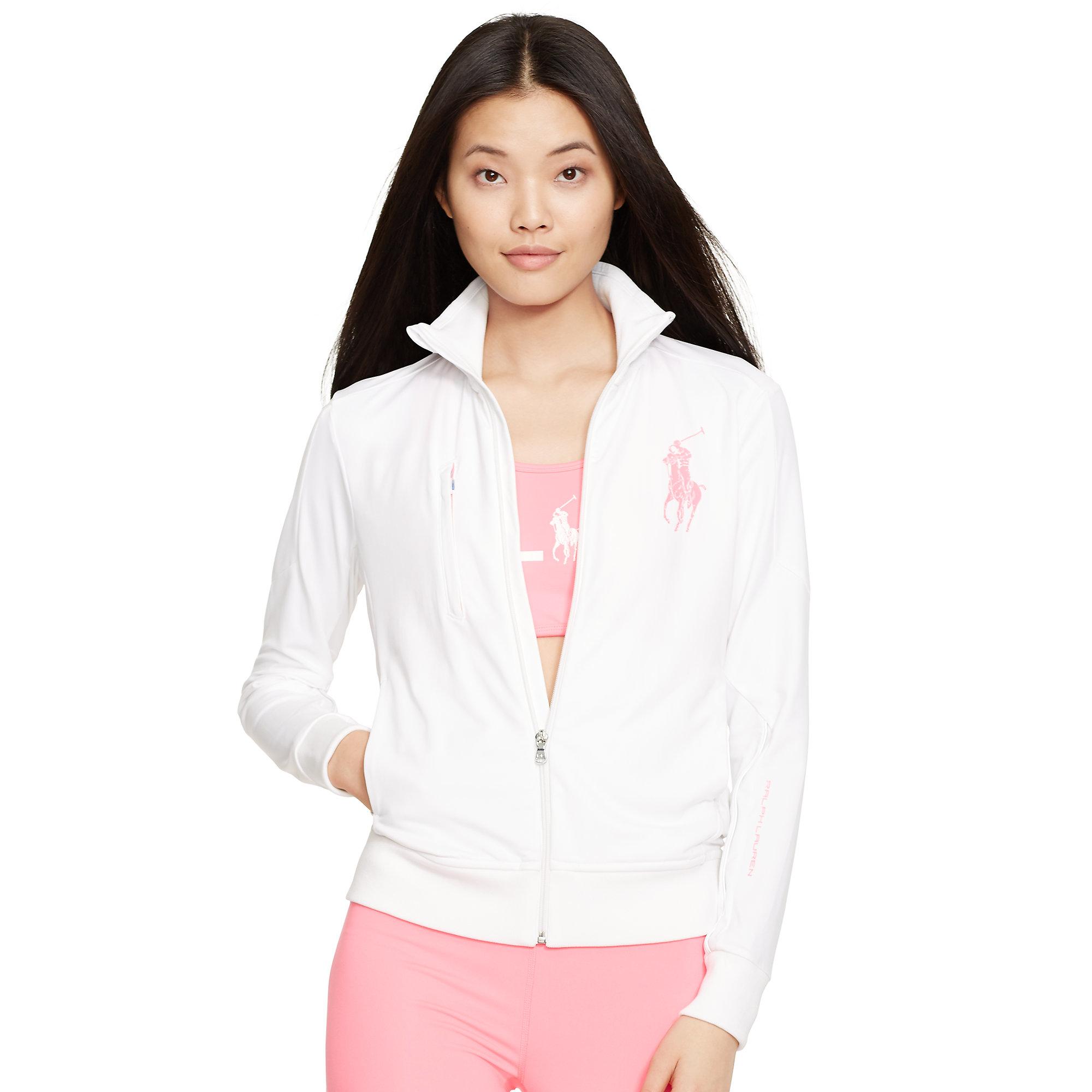 Lyst - Pink pony Pink Pony Track Jacket in White
