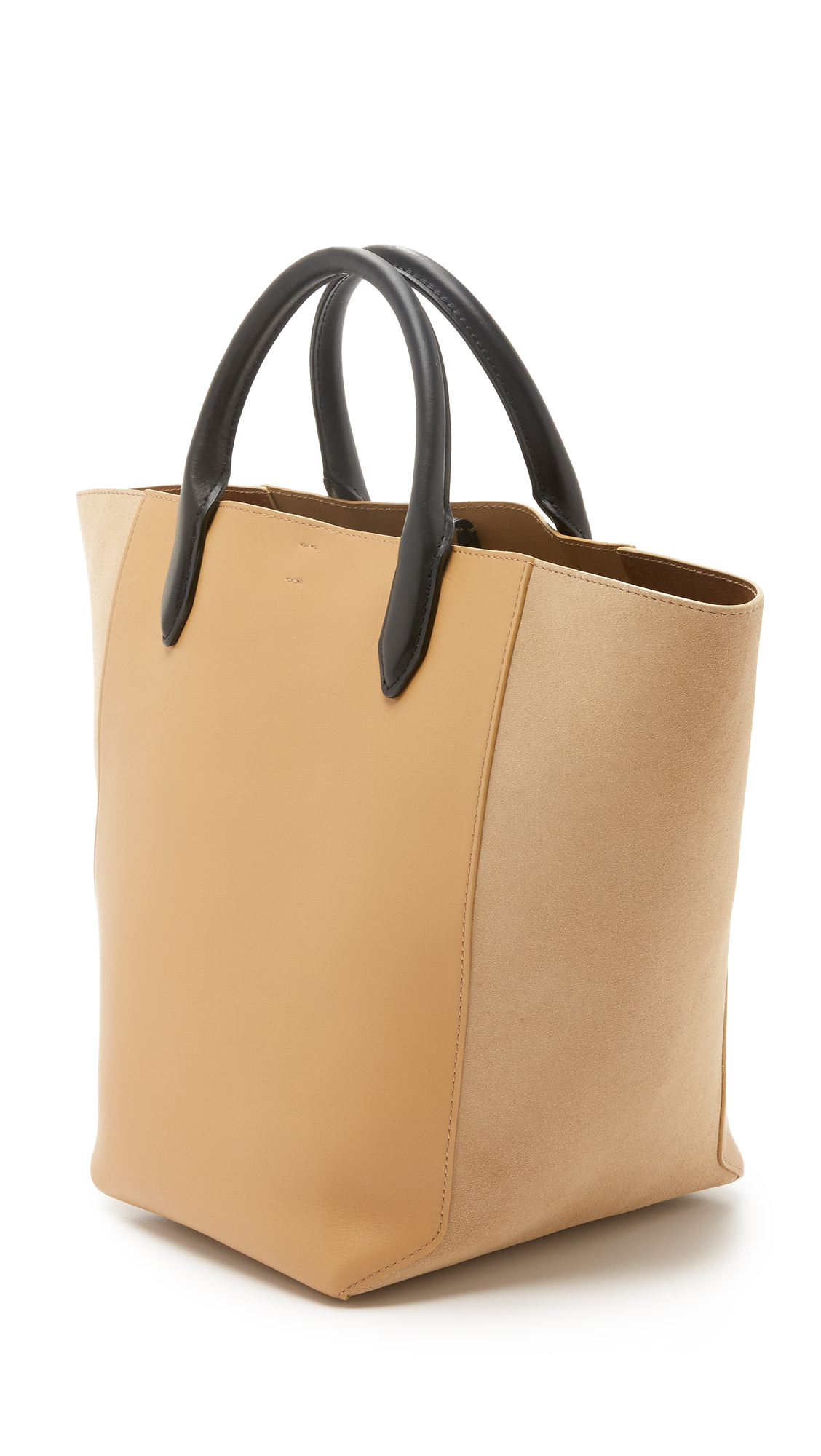 3.1 Phillip Lim Bianca Small Tote in Camel (Natural)