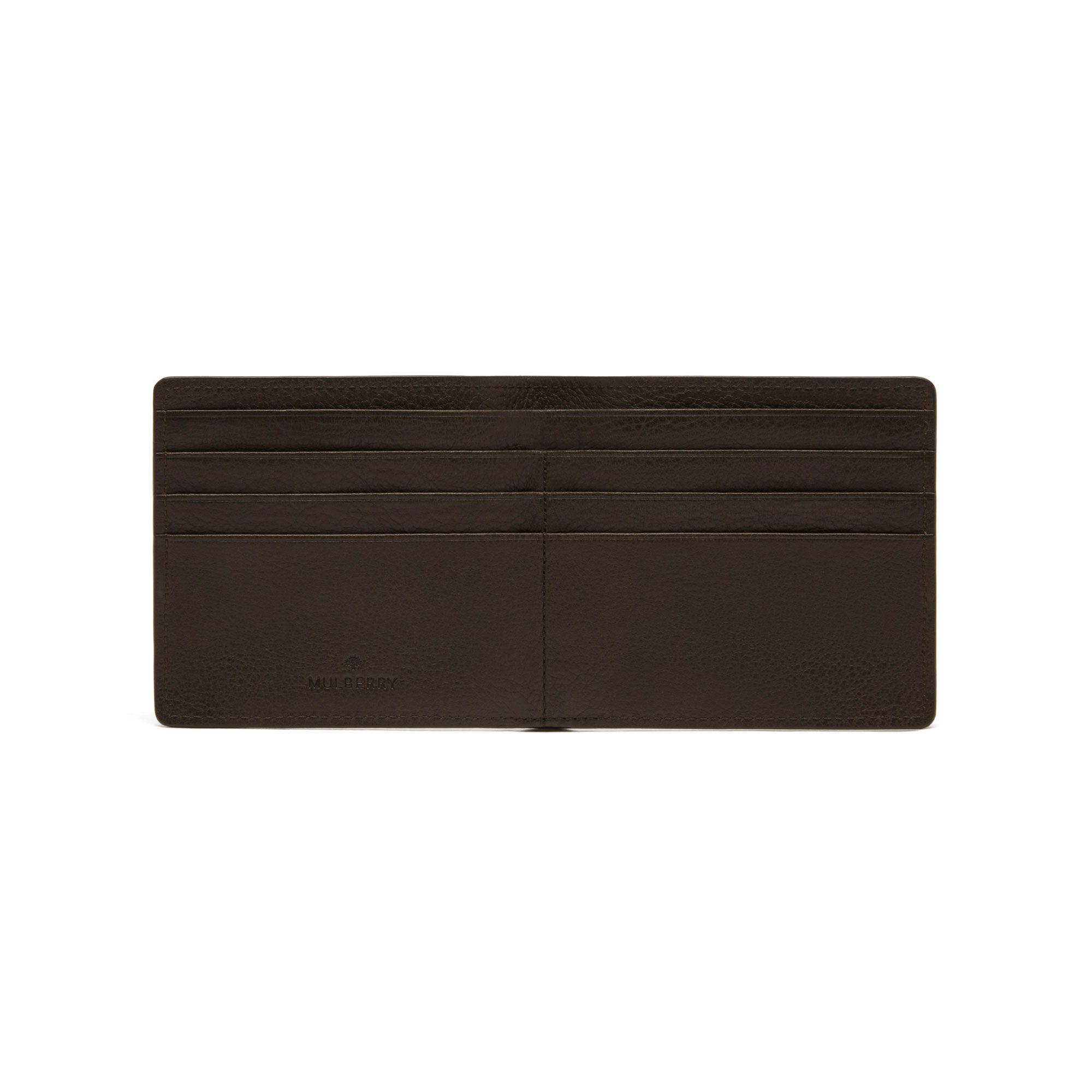 36ce5bd1fbd19 sale lyst mulberry slim 6 card wallet in brown for men 2e9f2 cf095