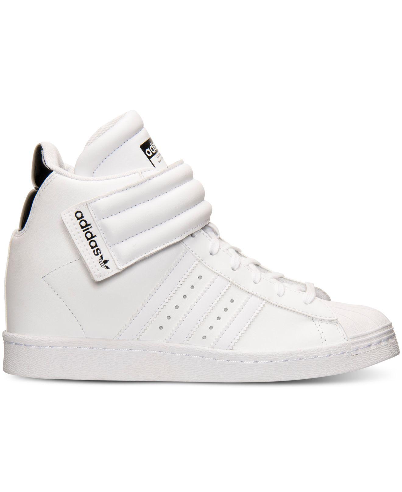 c13862795 Lyst - adidas Originals Women s Superstar Up Strap Casual Sneakers ...