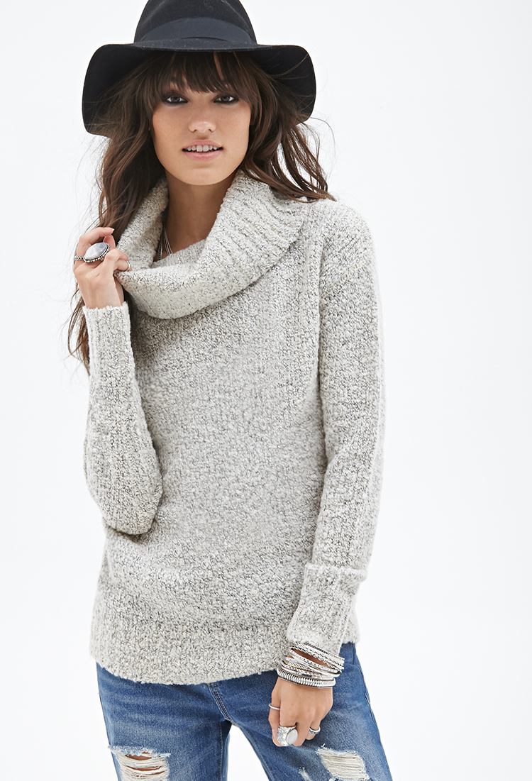 Forever 21 Oversized Cowl Neck Sweater You've Been Added To The ...