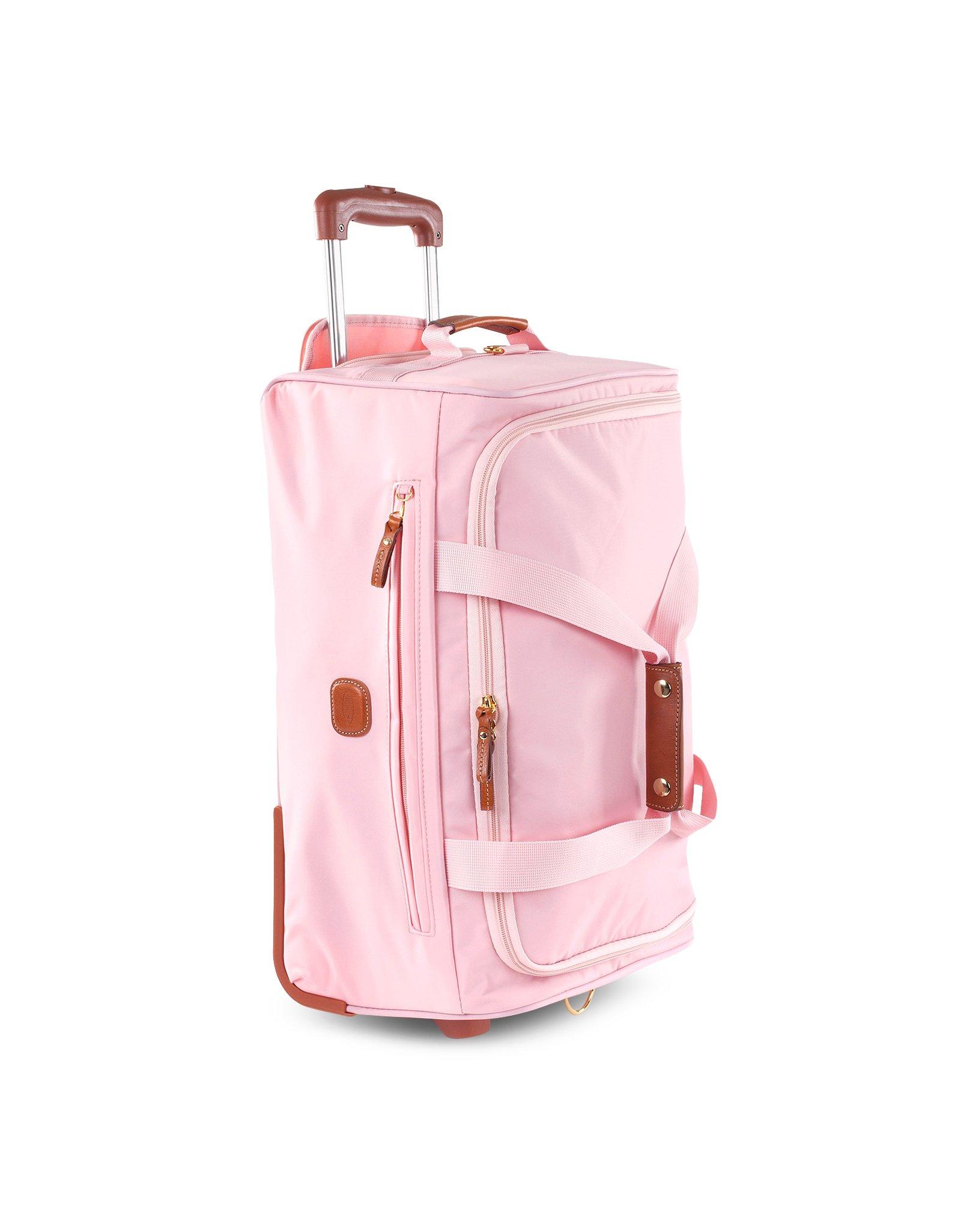 Bric's X-Travel Medium Rolling Duffle Bag in Pink for Men | Lyst