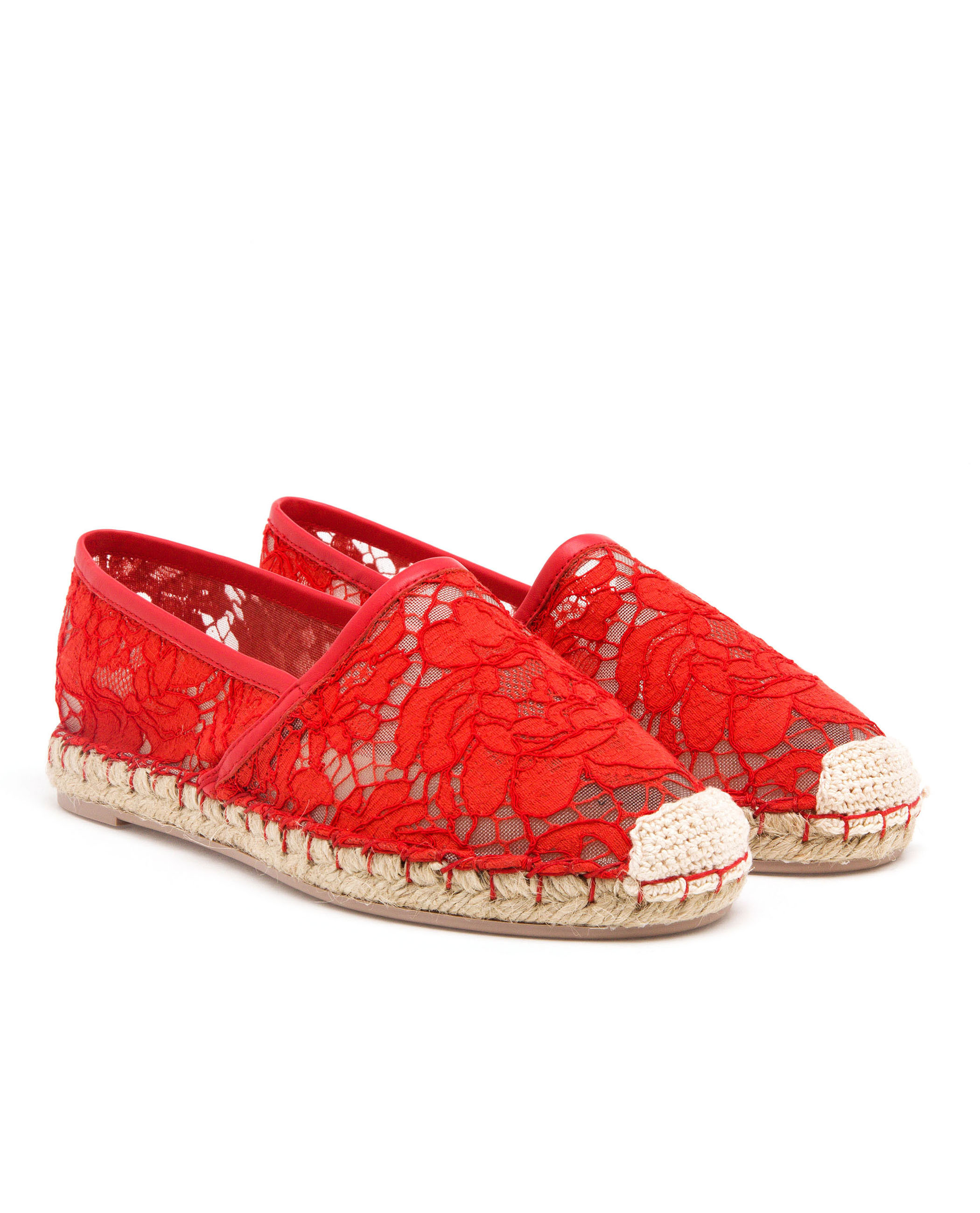Valentino Flat Shoes Red