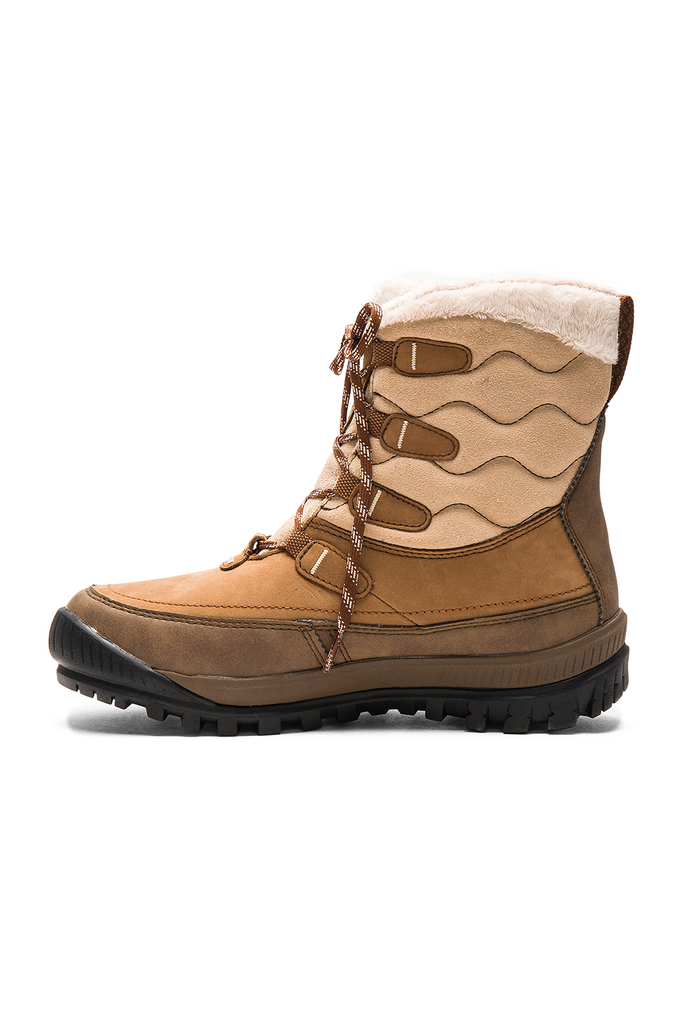 timberland woodhaven boot in brown lyst