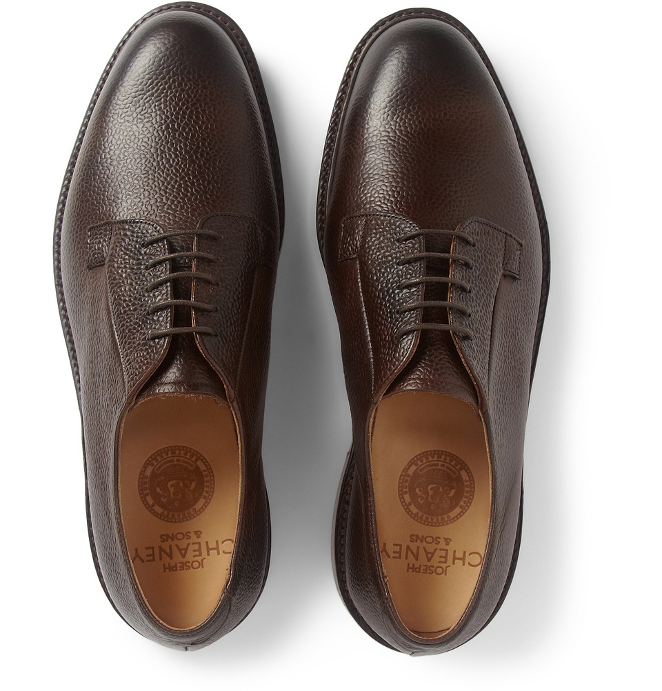 Vince Dylan Leather Derby Shoes