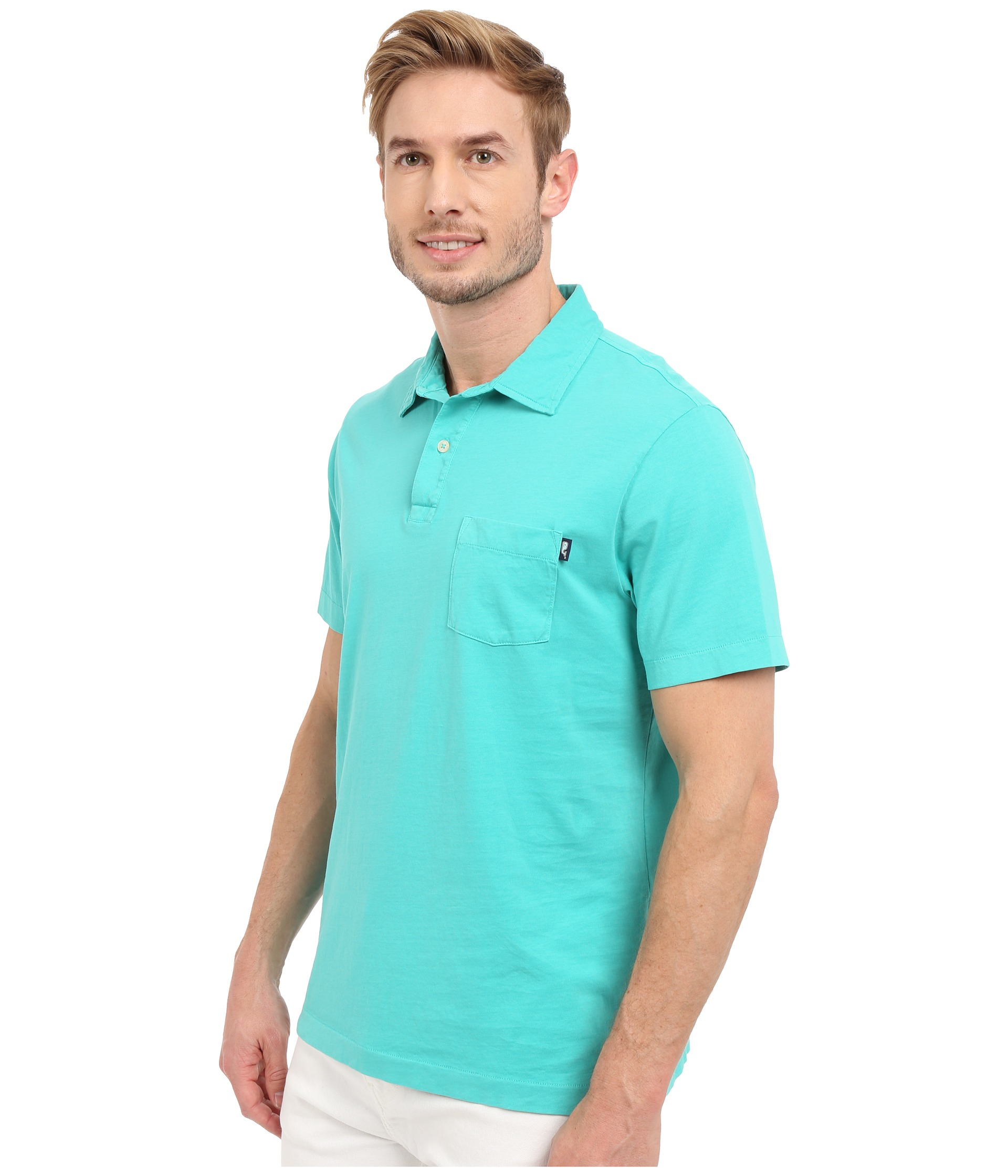9144ae53cf Lyst - Vineyard Vines Pigment Garment Dyed Polo in Blue for Men