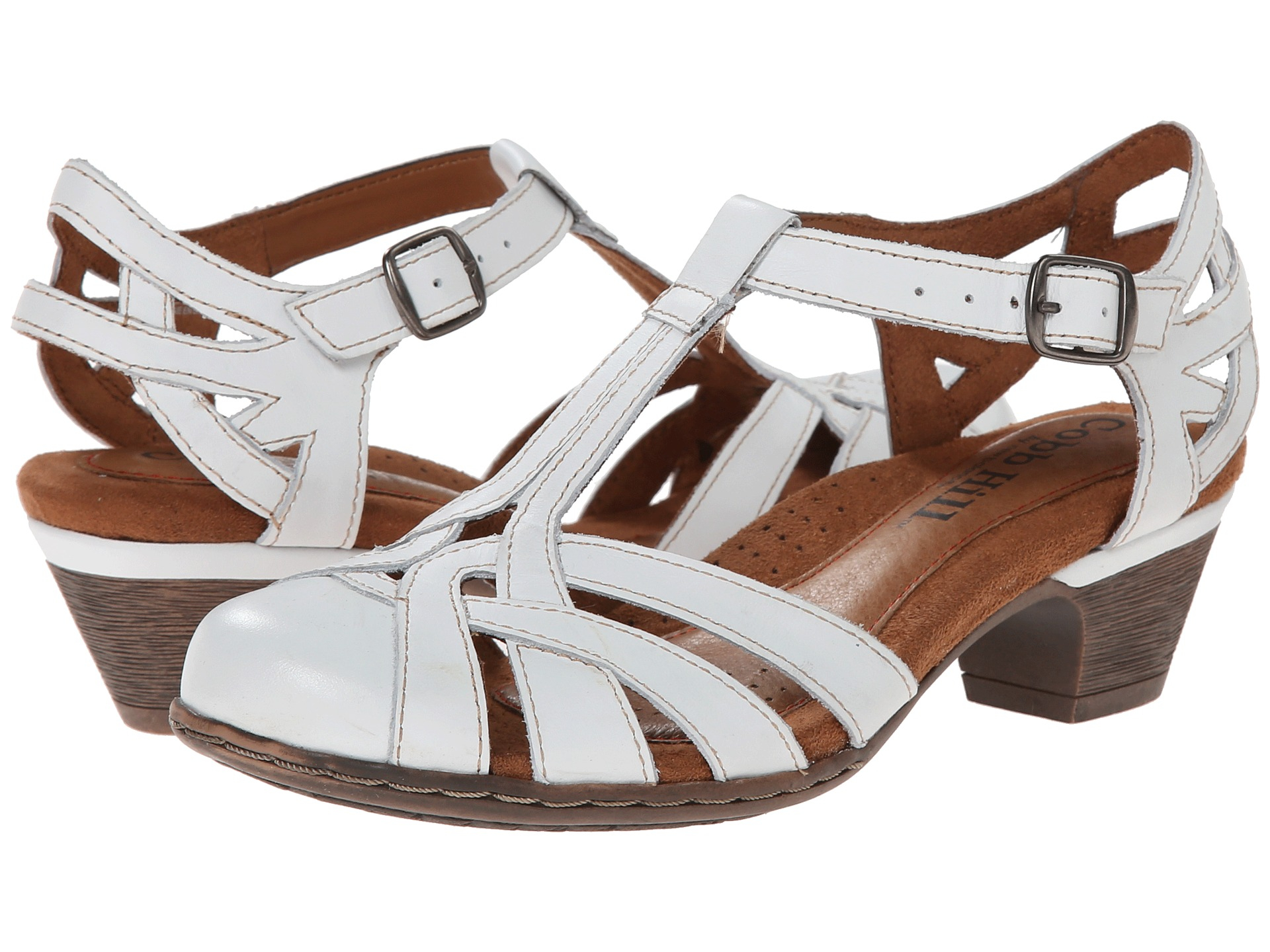 Rockport Cobb Hill Aubrey In White Lyst