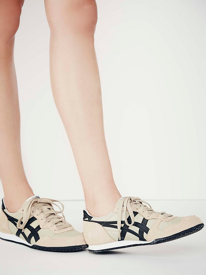 check out 1f4fb 32e79 Natural Onitsuka Tiger By Asics Womens Serrano Runner