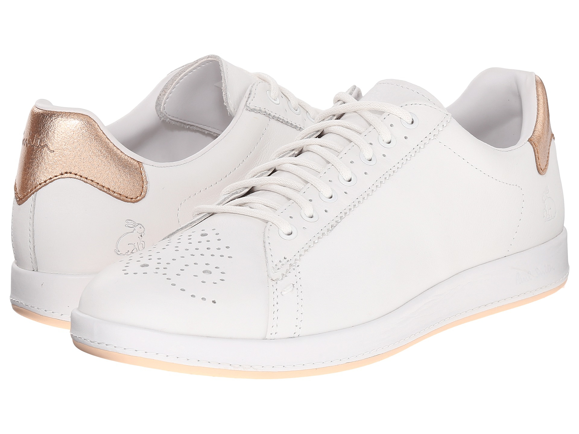 discount pick up top fashion Paul Smith Rabbit Mono Lux Sneaker in White for Men - Lyst
